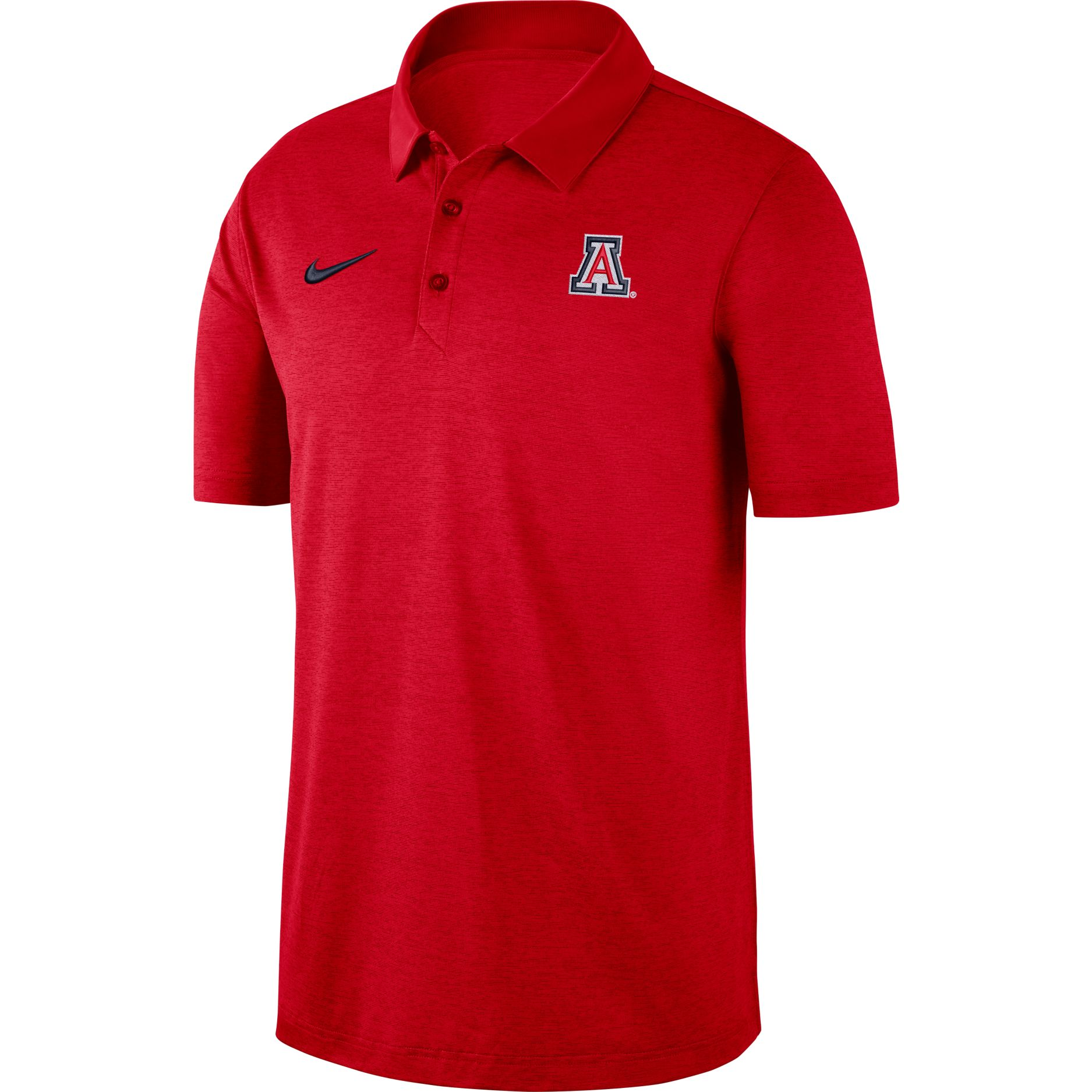 Image For Nike: Arizona Wildcats Red Logo Performance Polo