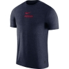 Cover Image for Nike: Arizona Wildcats Dri-Fit Coach Tee - Navy