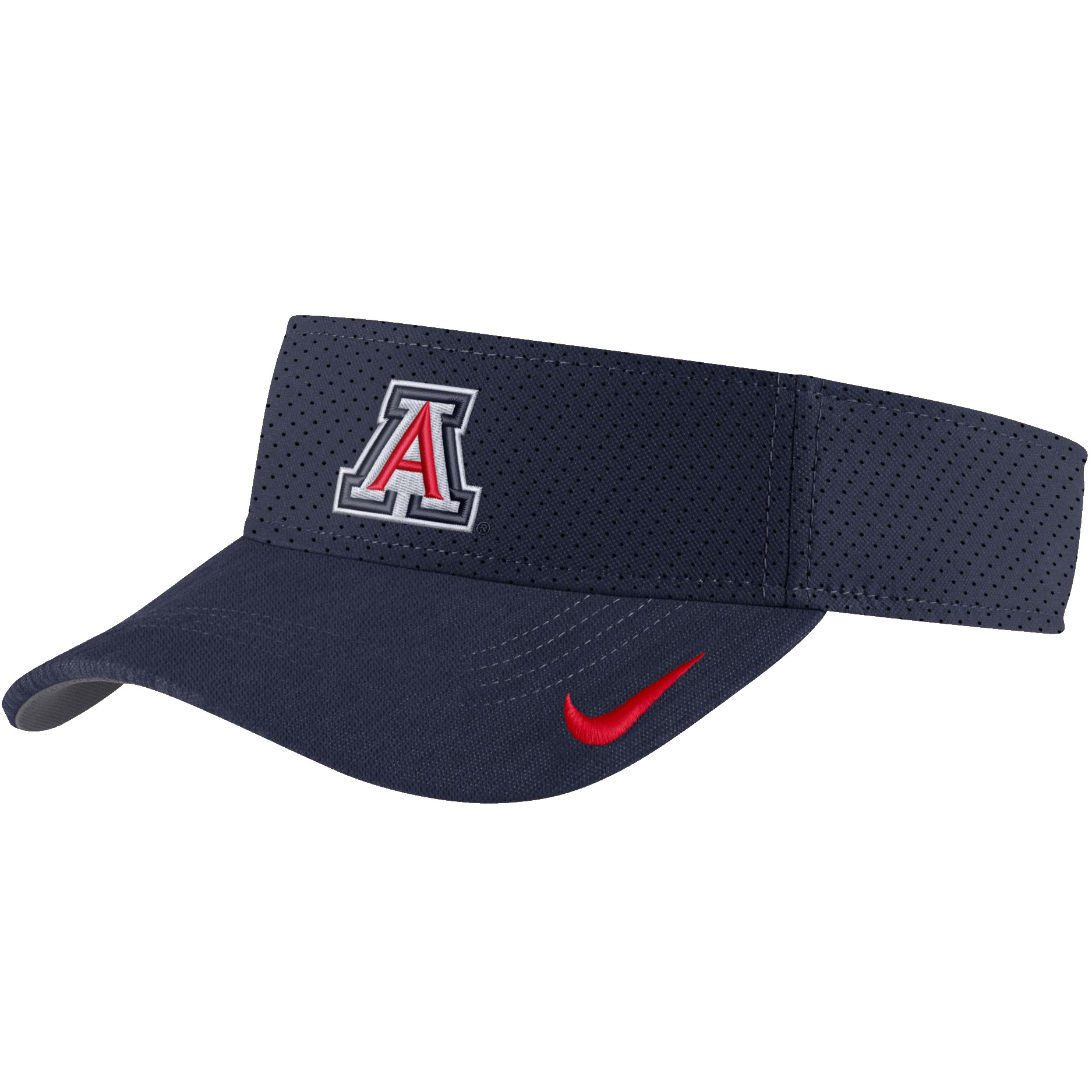 Image For Nike: Arizona AeroBill Sideline Visor - Navy