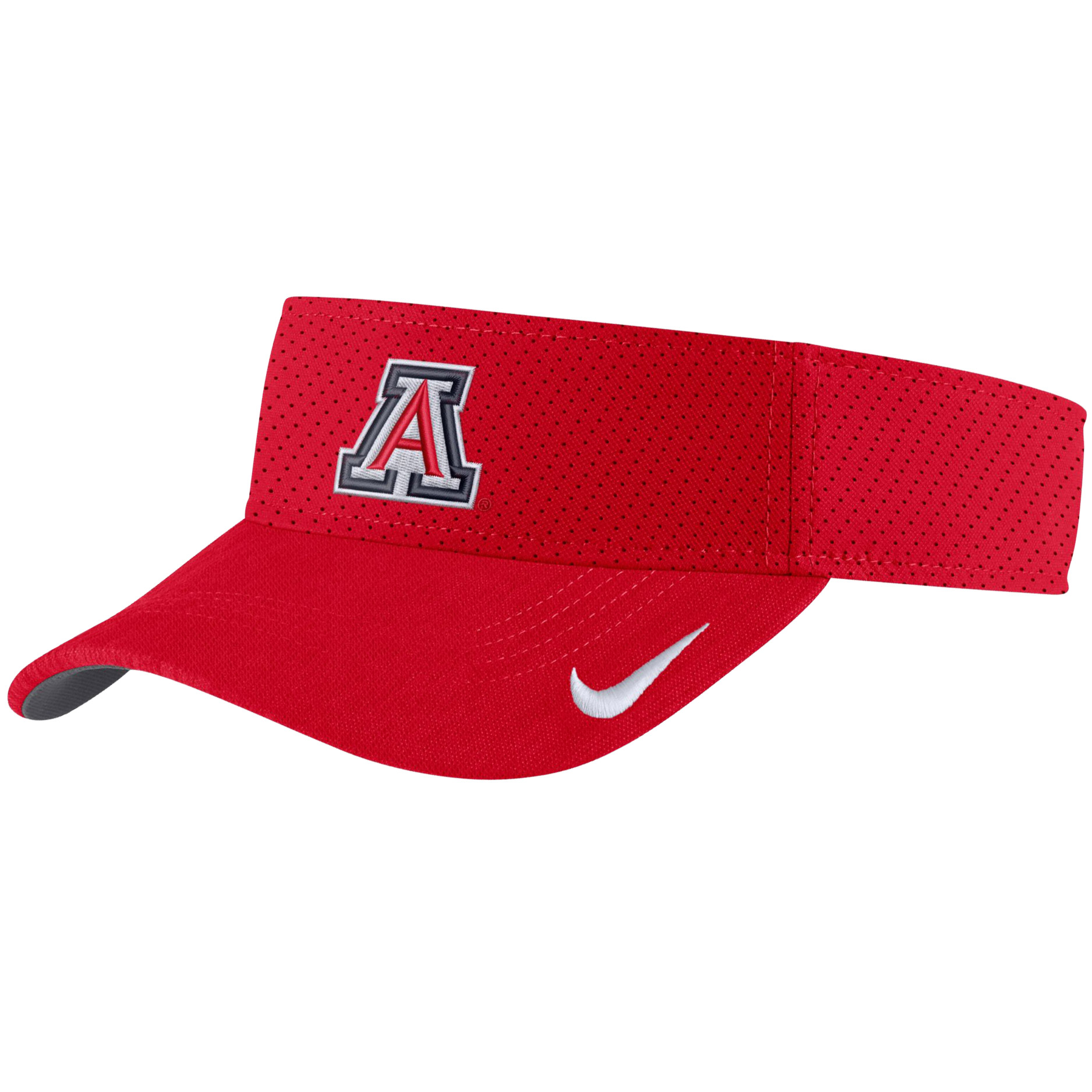 Image For Nike: Arizona AeroBill Sideline Visor - Red