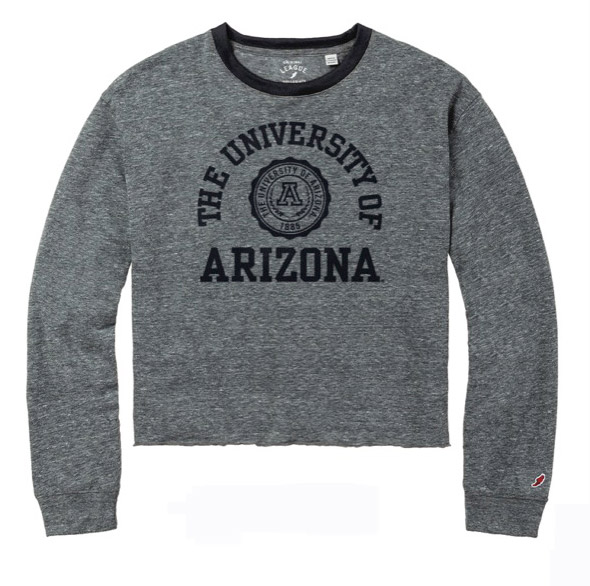 Image For League 91: Arizona Seal Logo intramural Long Sleeve Crop