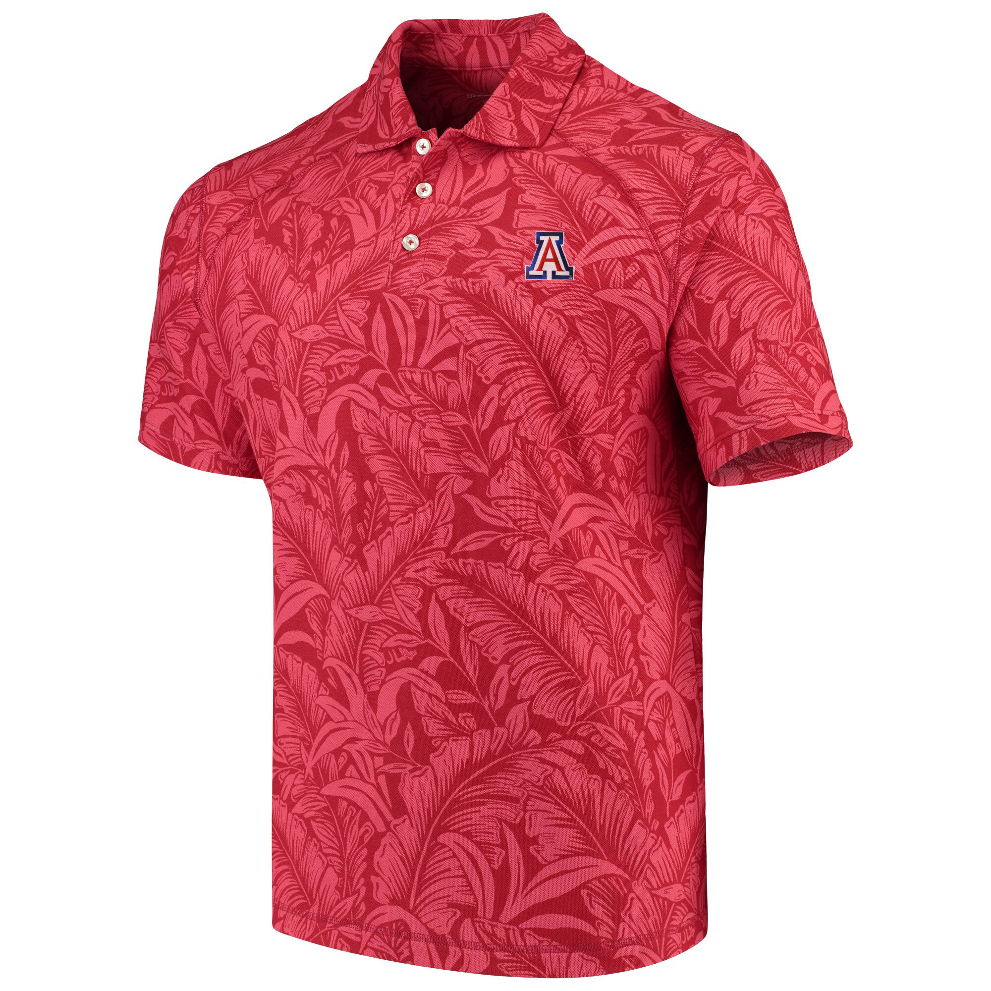 159908d8d20b Image For Tommy Bahama: Arizona Sport Leafbacker Polo - Chili Pepper