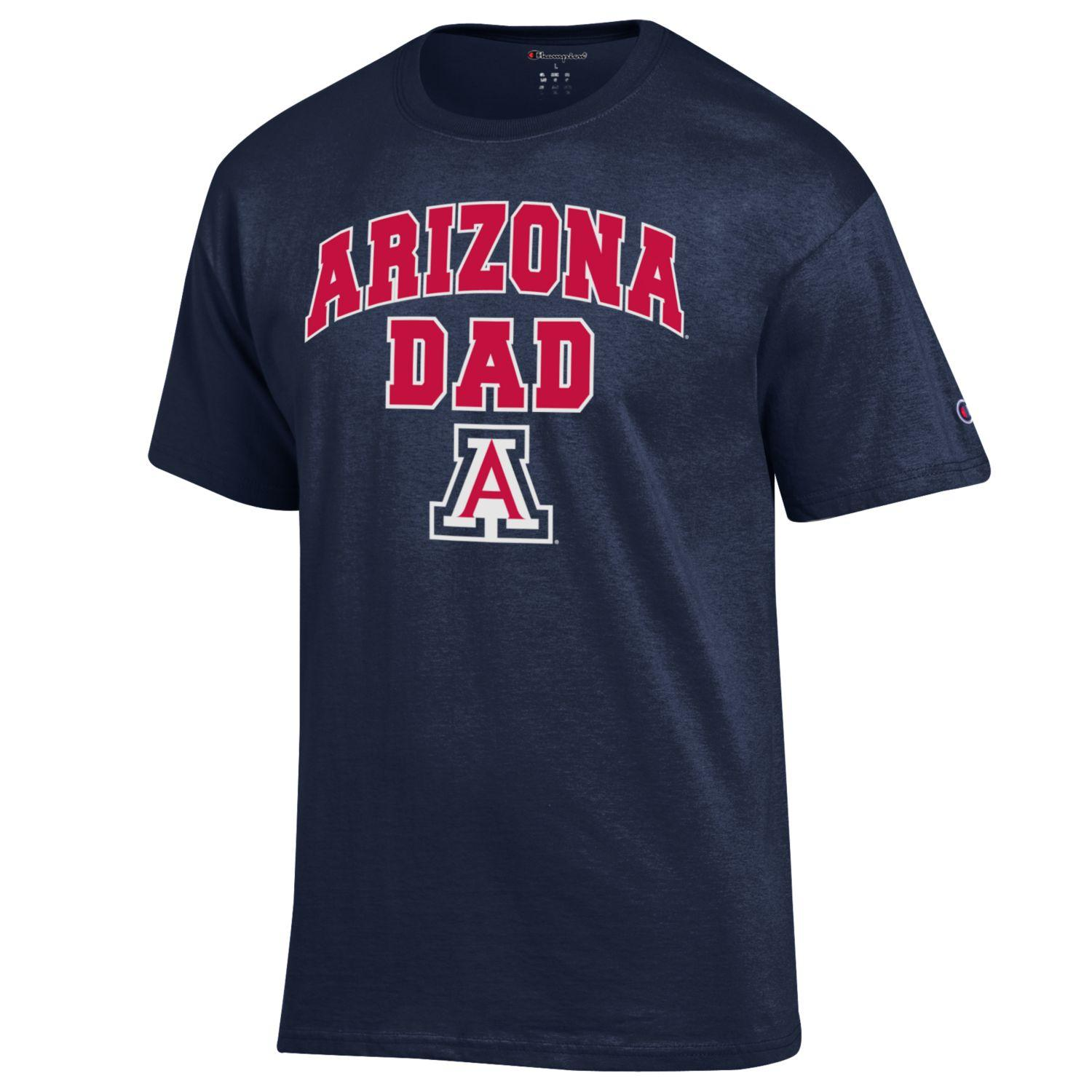 56646934 Champion: Arizona DAD 2019 Orientation Tee - Navy