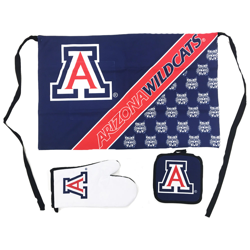 Image For WinCraft: Arizona Wildcats Deluxe Barbeque Set