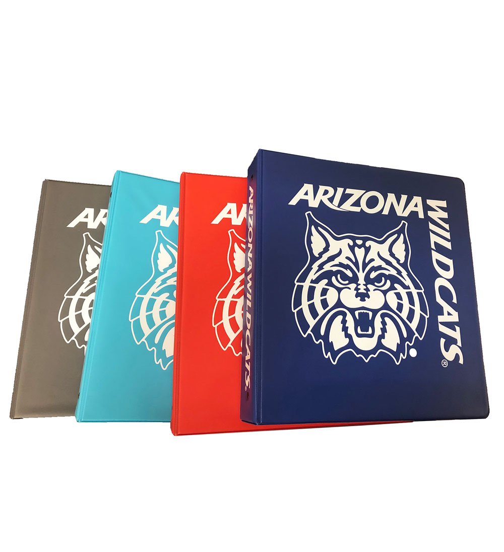 "Image For Binder: Arizona Wildcats 1.5"" Ring Binder by Samsill"