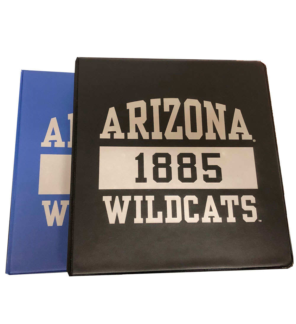 "Image For Binder: Arizona 1885 Wildcats 1.5"" Binder by Samsill"