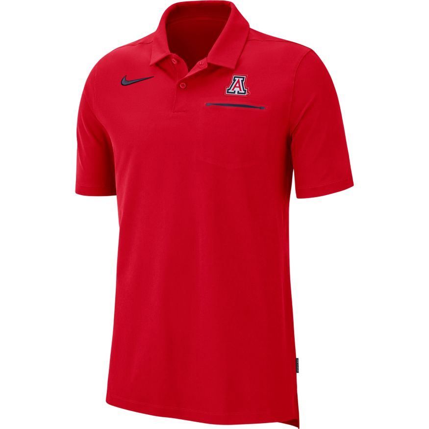 Image For Nike: Arizona Dri-Fit Men's Polo - Red