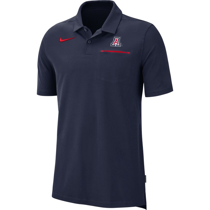 Image For Nike: Arizona Dri-Fit Men's Polo - Navy