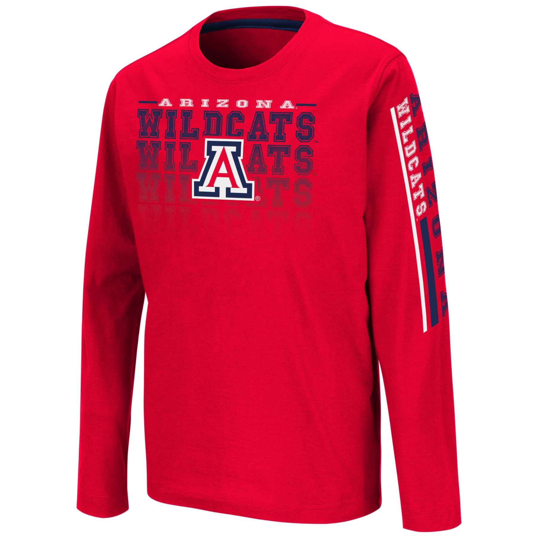 Image For Colosseum: Arizona Wildcats Youth Beaker Long Sleeve