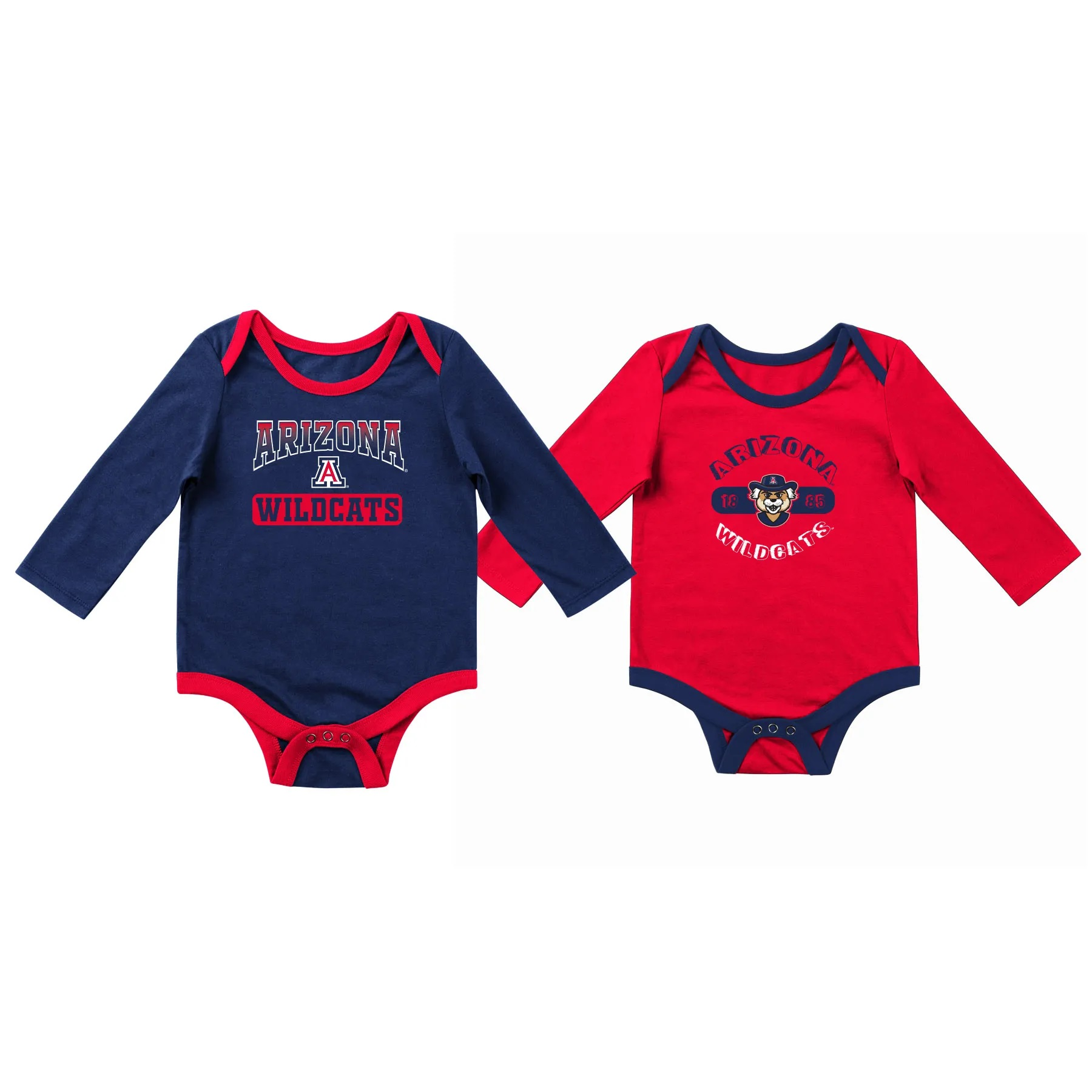 Cover Image For Colosseum: Arizona Wildcats Infant Two Pack Onsie