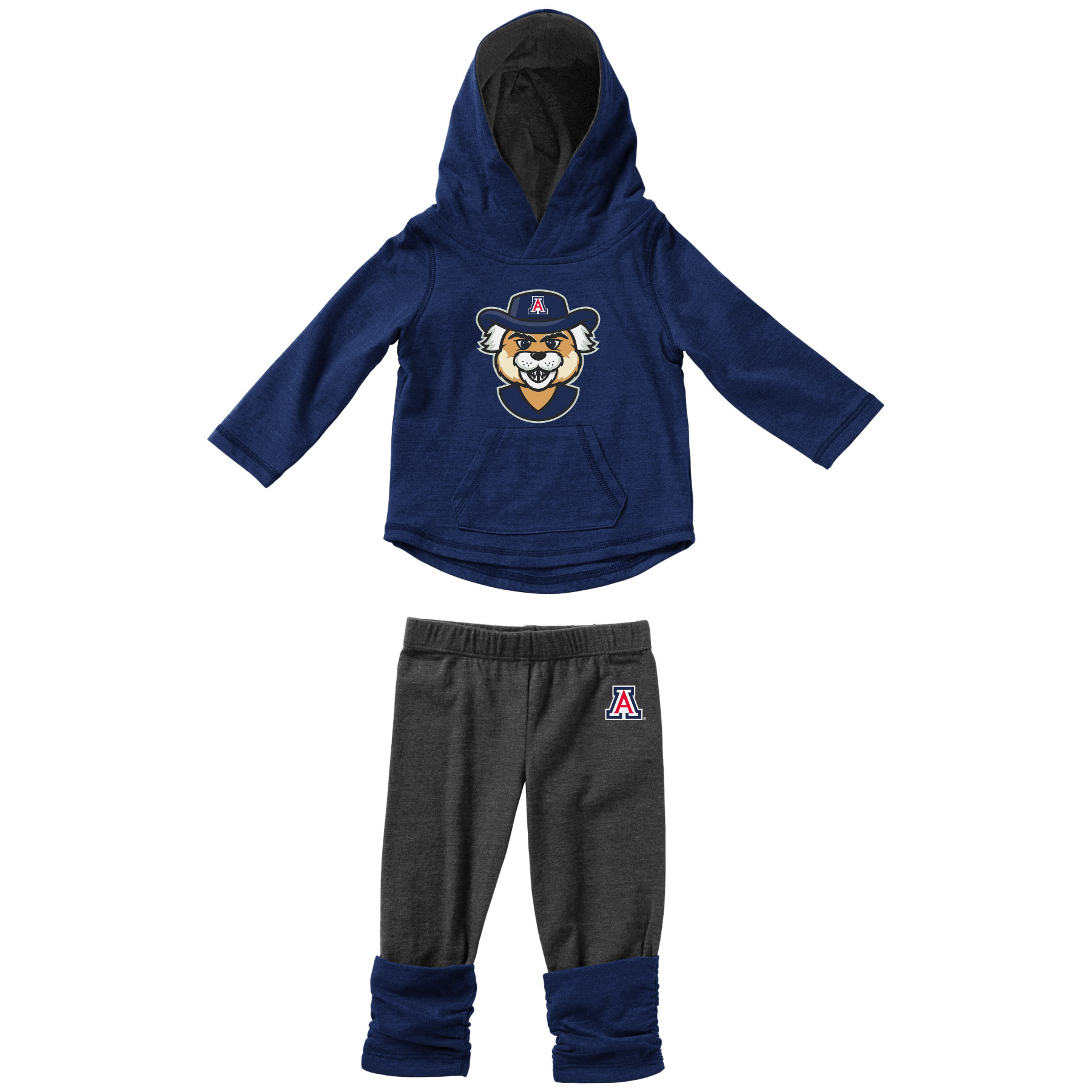 Image For Colosseum: Infant Hoodie T-Shirt and Leggings Set