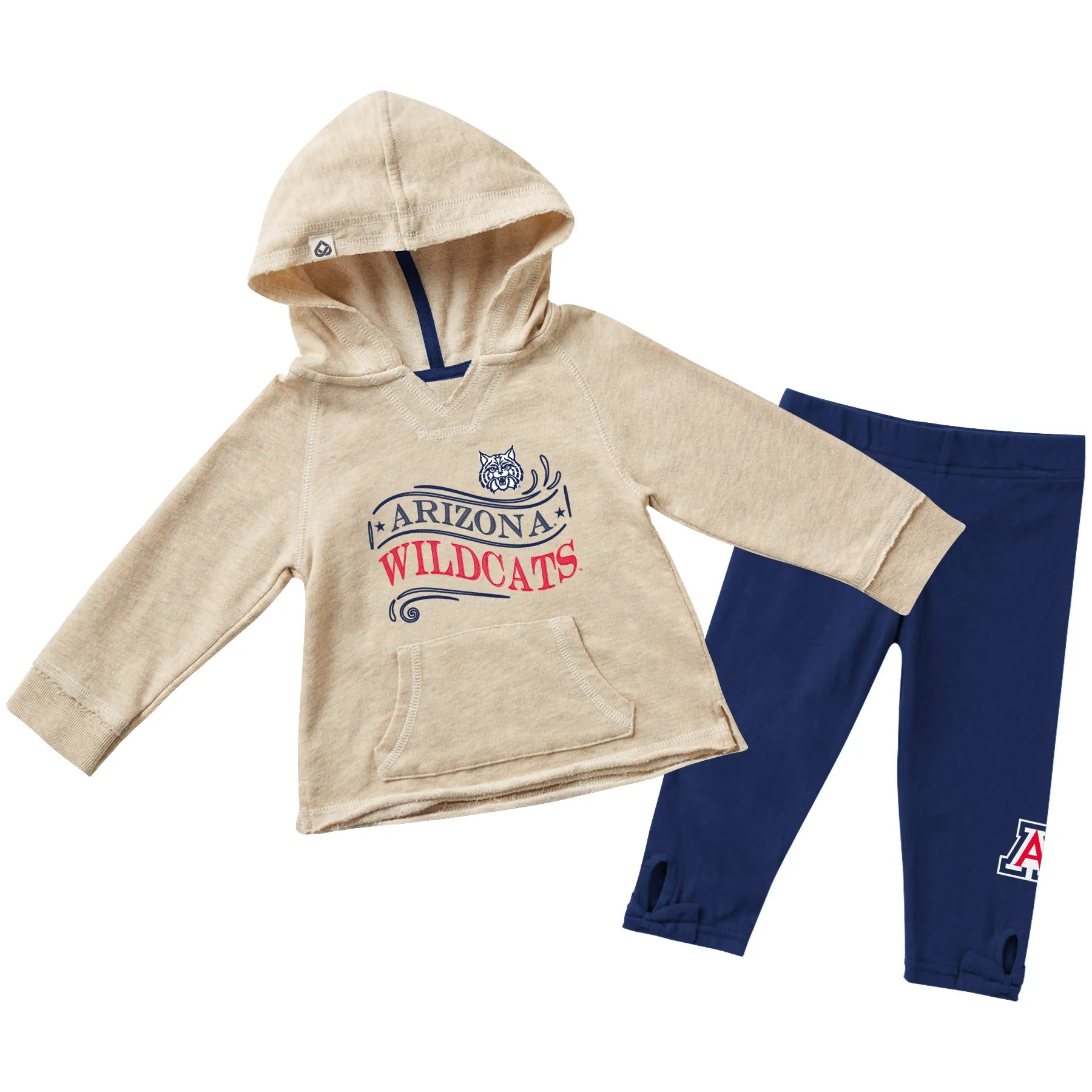 Image For Colosseum: Arizona Wildcats Infant Girls OZ Terry Set
