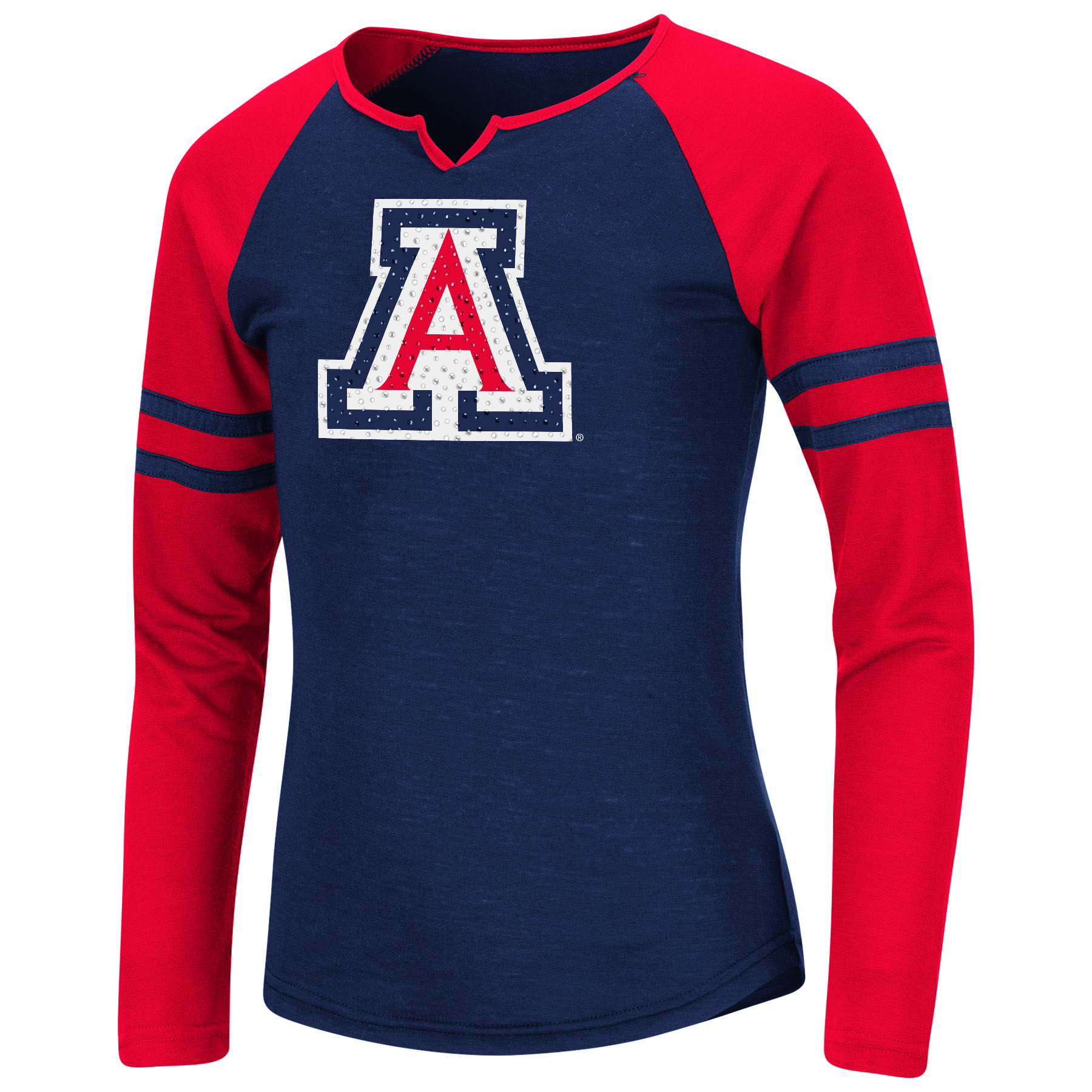 Image For Colosseum: Arizona Youth Girls Andy Long Sleeve Tee