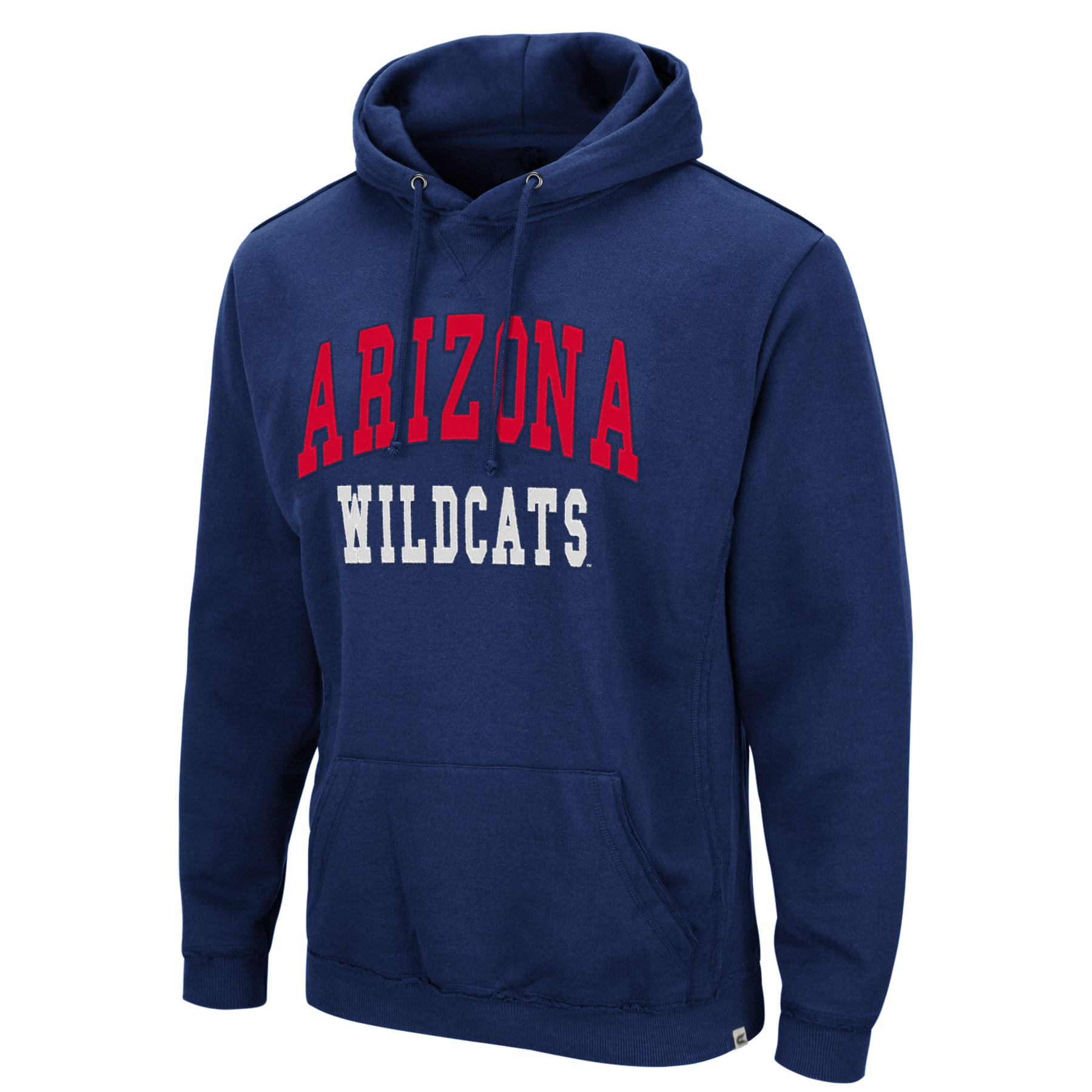 Image For Colosseum: Arizona Wildcats Rebel Alley Hooded Sweatshirt