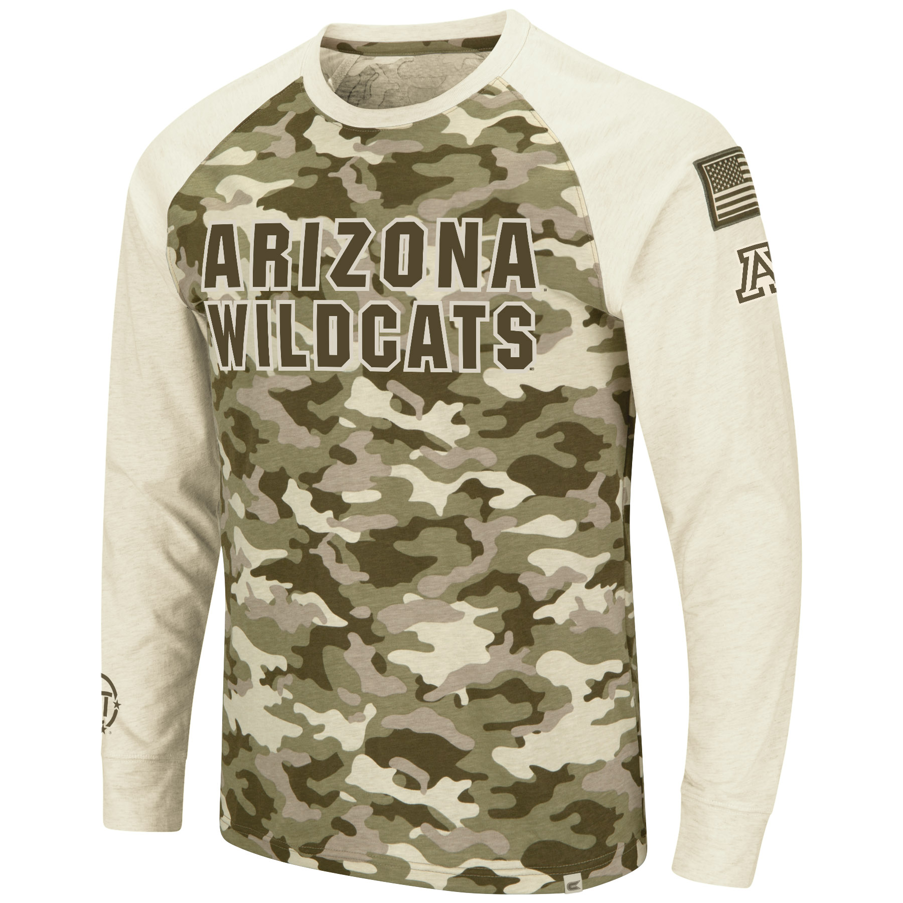 Image For Colosseum: ARIZONA WILDCATS Operation Hat Trick Long Sleeve