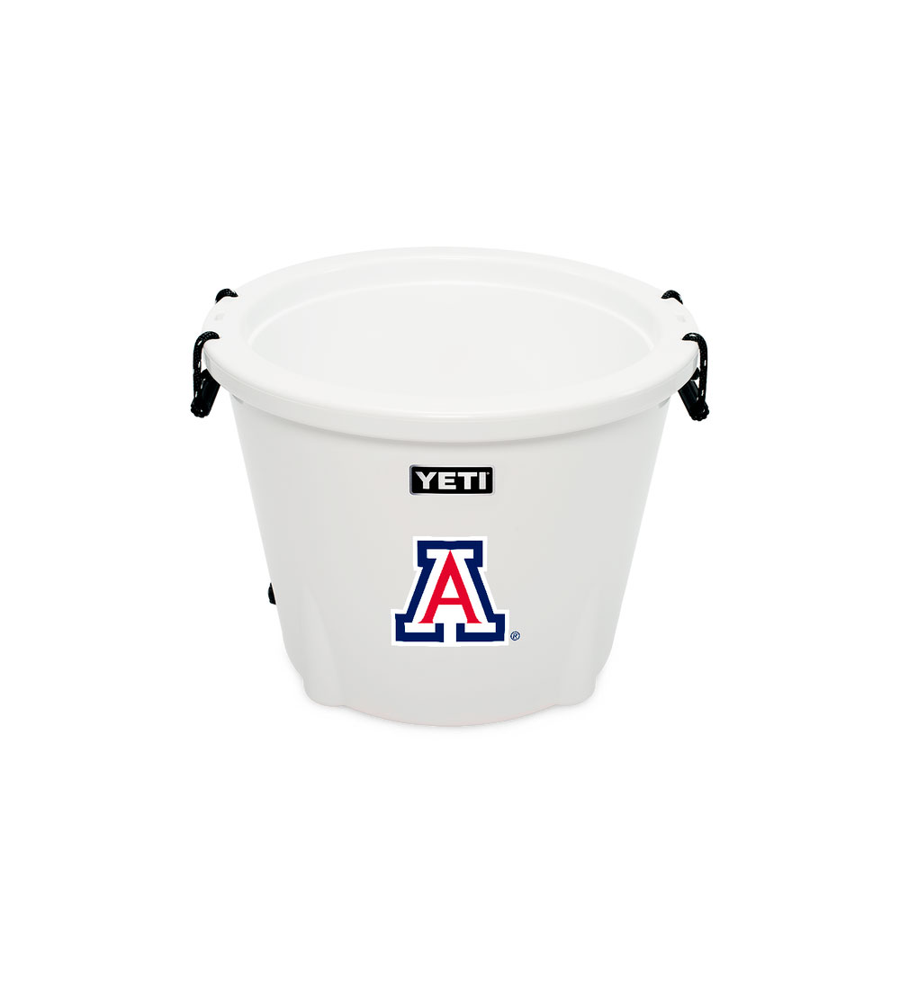 Image For YETI: Arizona Tank Team Logo 85oz Cooler