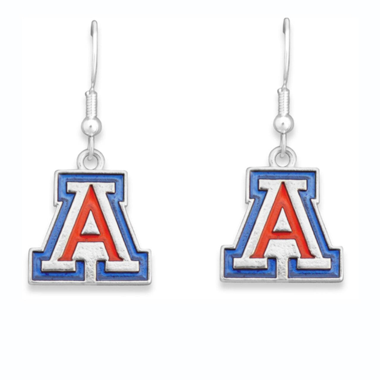 Image For From The Heart: Arizona Wildcats Earrings - Fantastic