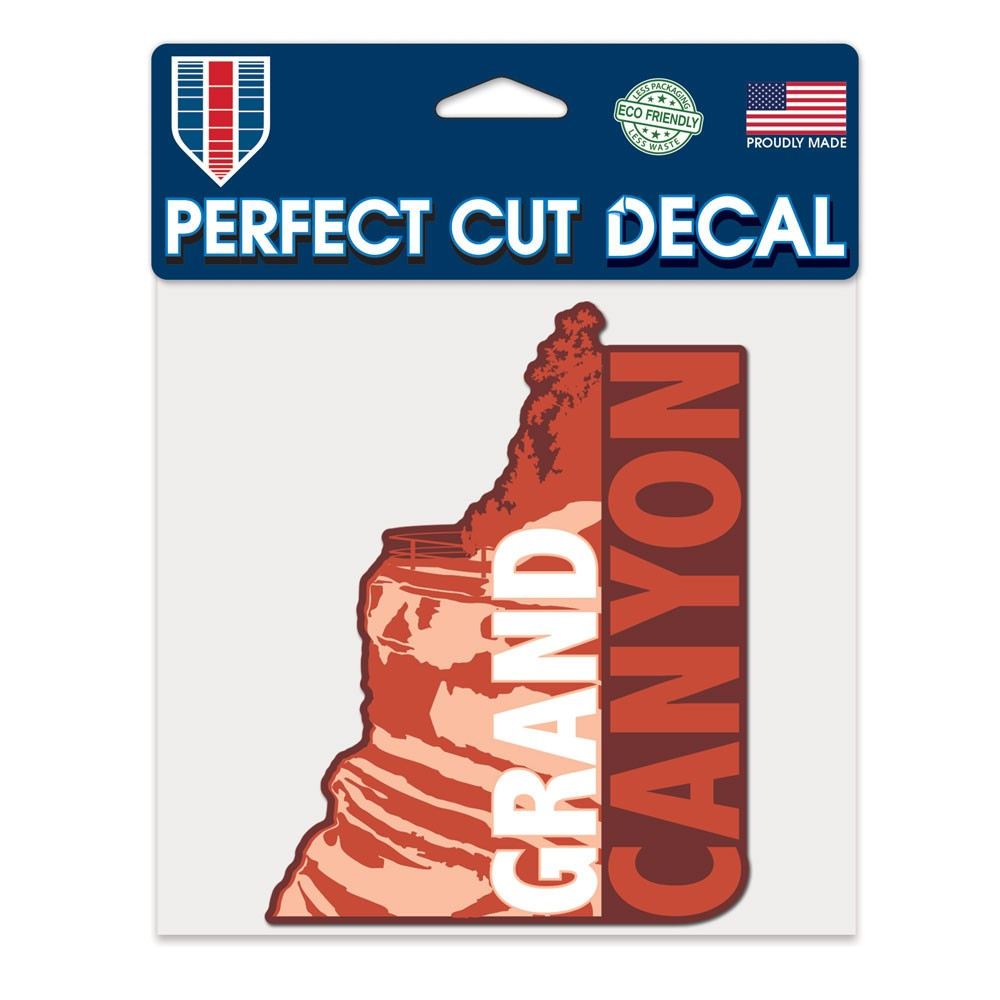 Image For Decal: GRAND CANYON Rock Perfect Cut Decal
