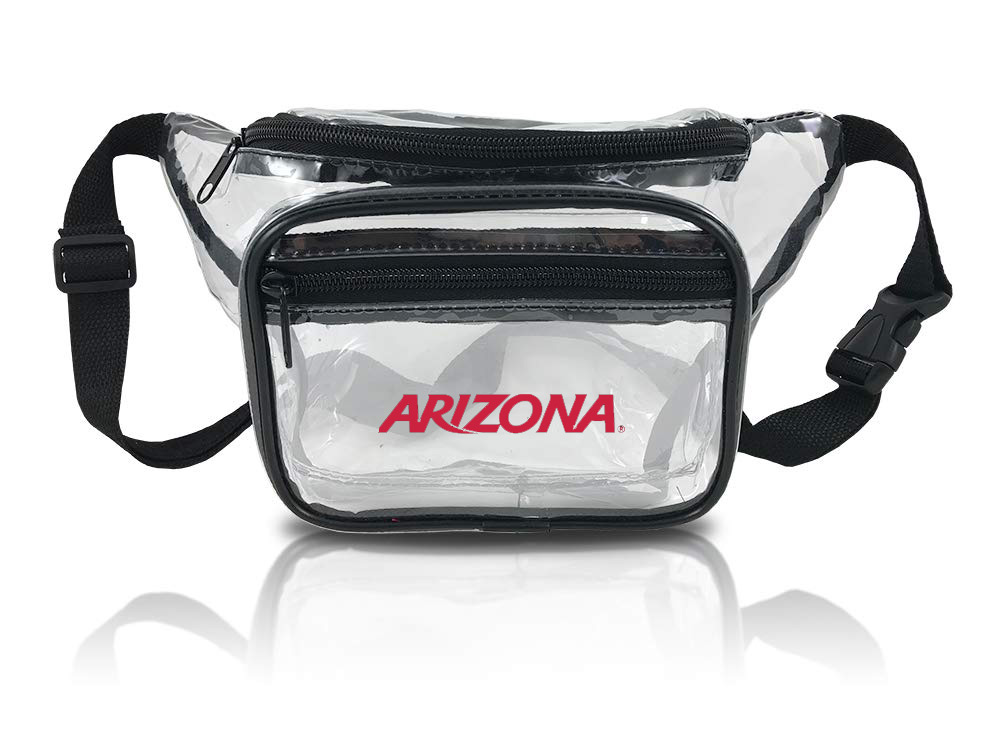 Image For Neil Enterprises: ARIZONA Clear PVC Fanny Pack