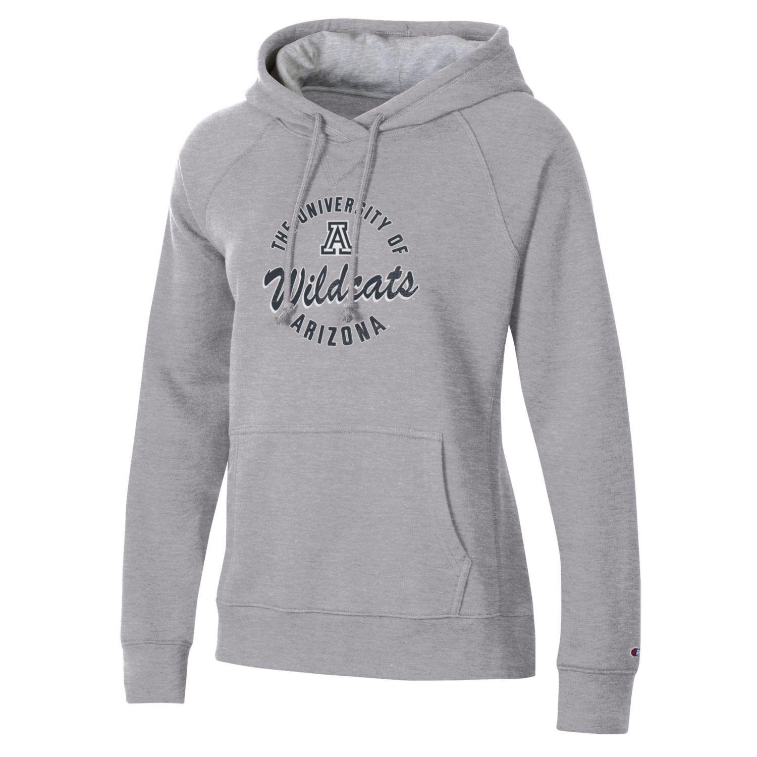 Image For Champion: University of AAZ Wildcats Women's Hoodie - Grey
