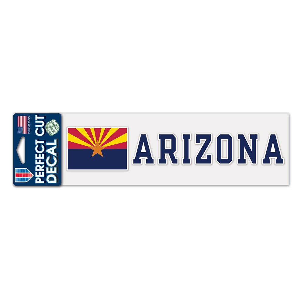 Image For Decal: ARIZONA State Flag Sunset Perfect Cut Decals