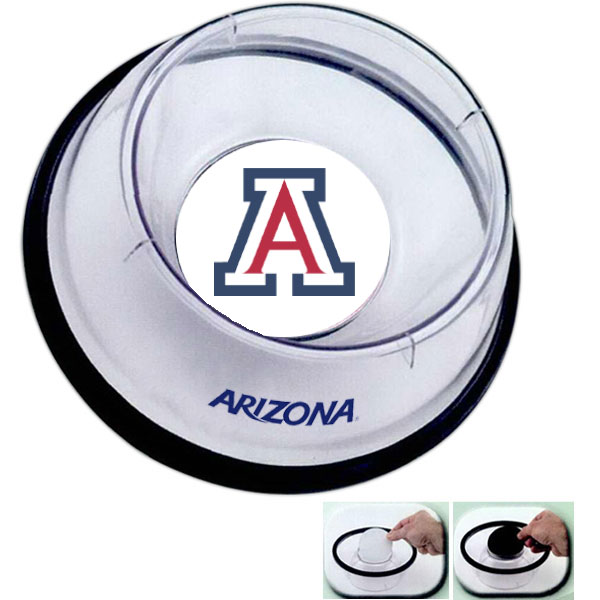 Image For R & D Speciality: Arizona Logo Murphy Pet Photo Bowl