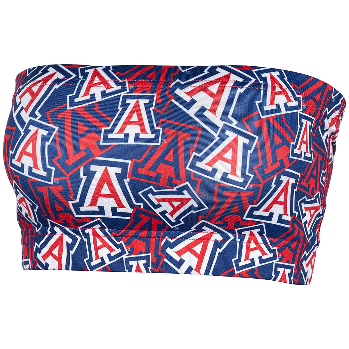 Image For Zoozatz: Arizona Logo All OVer Stacked Bandeau