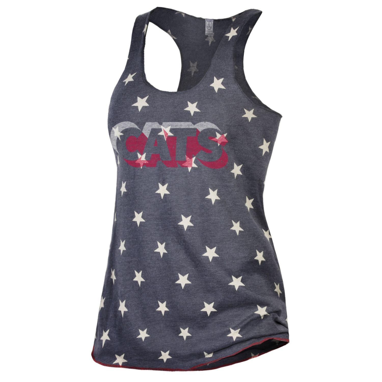 Image For Gear Alternative: Arizona CATS Meegs Printed Racerback Tank
