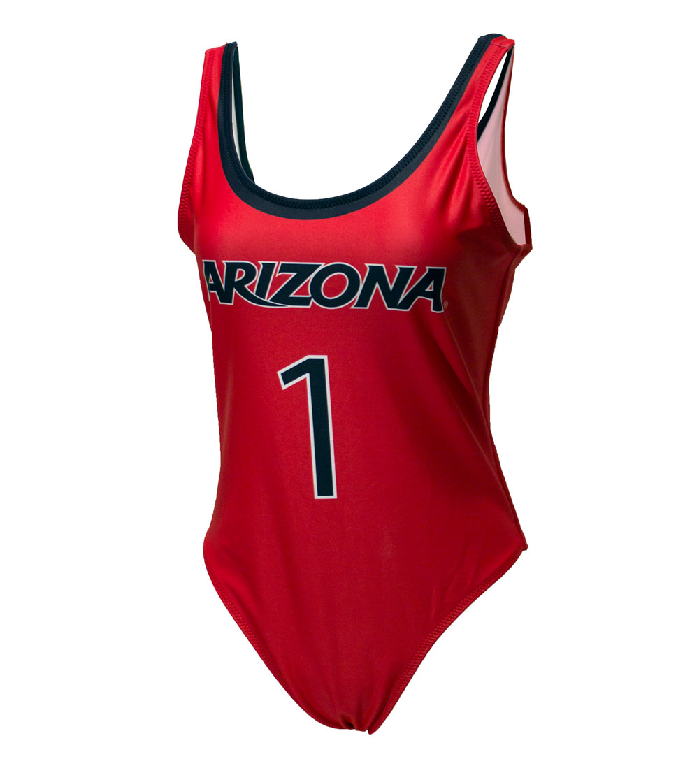 Image For Tellum+Chop: Arizona One Piece Bathing / Body Suit Women Red