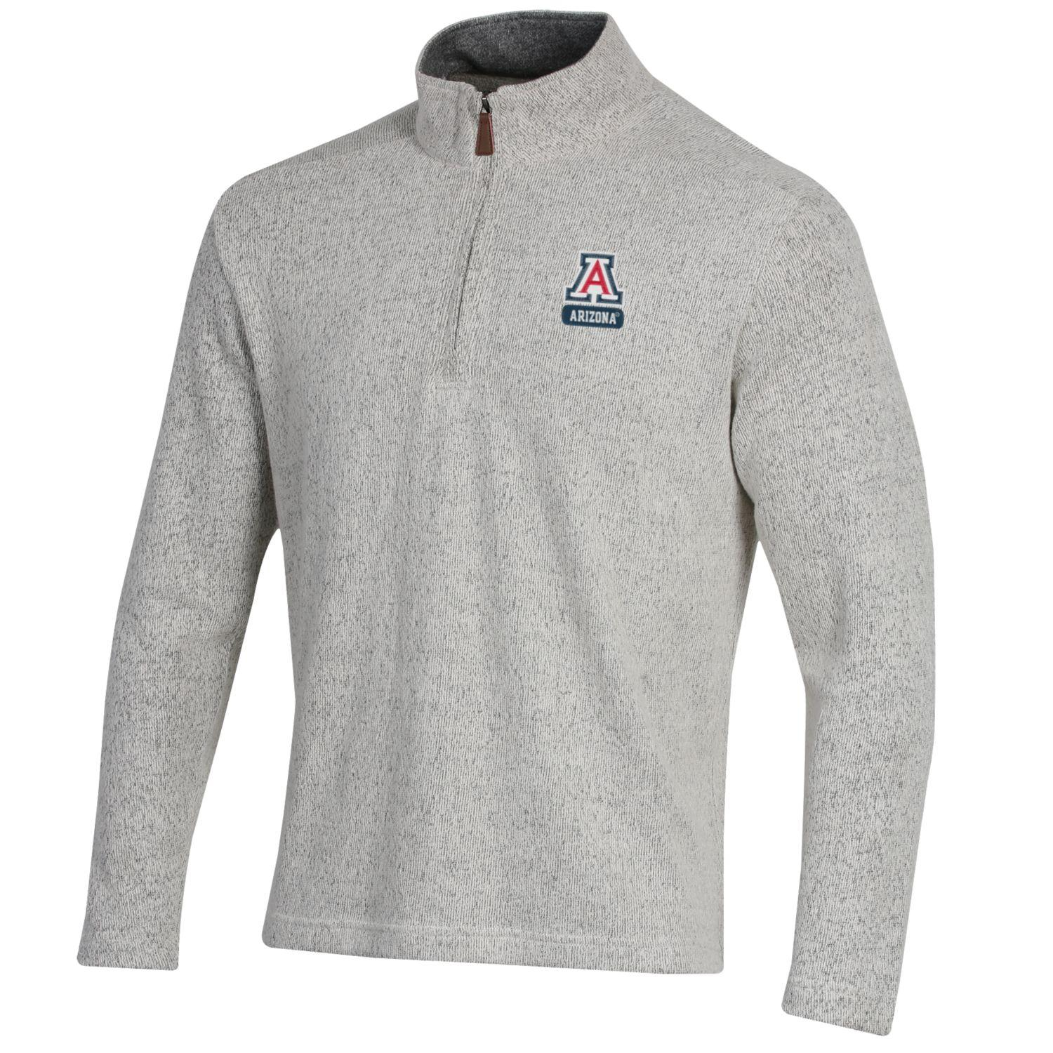 Image For Gear for Sports: Arizona Seaport 1/4 Zip Pullover - Oatmeal
