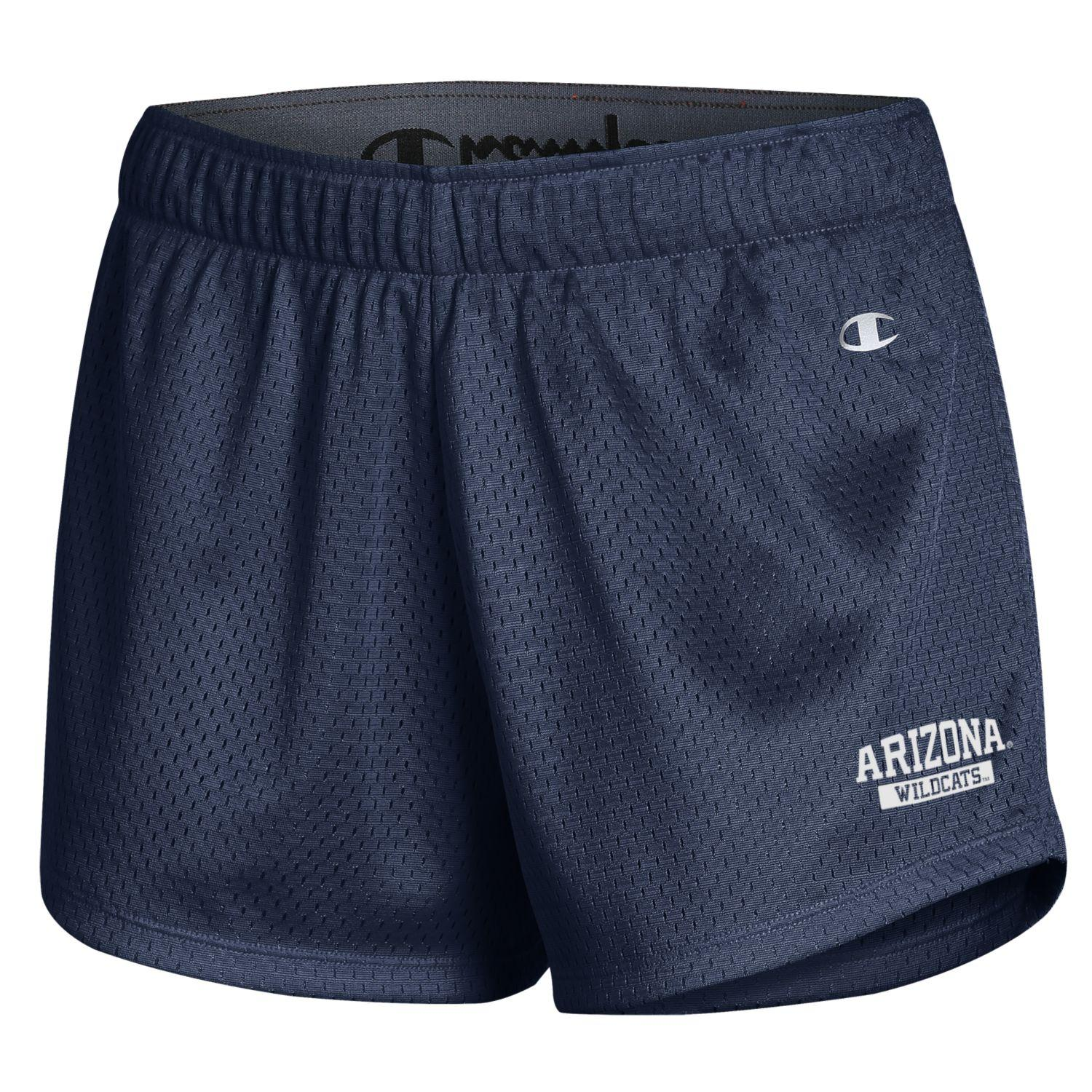 Image For Champion: Arizona Wildcats Mesh Shorts - Navy