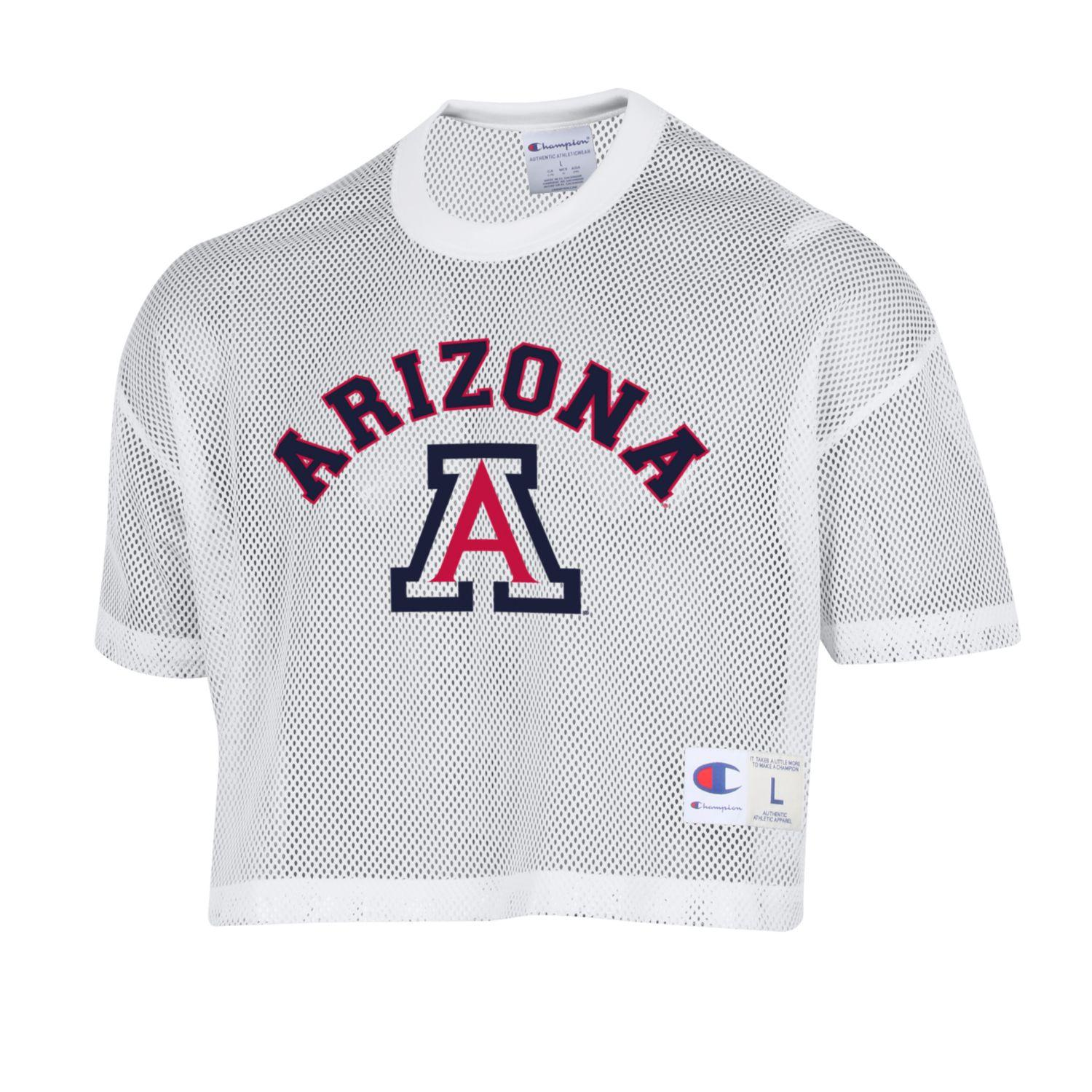 Image For Champion: Arizona Shimmel Mesh Football Jersey - White