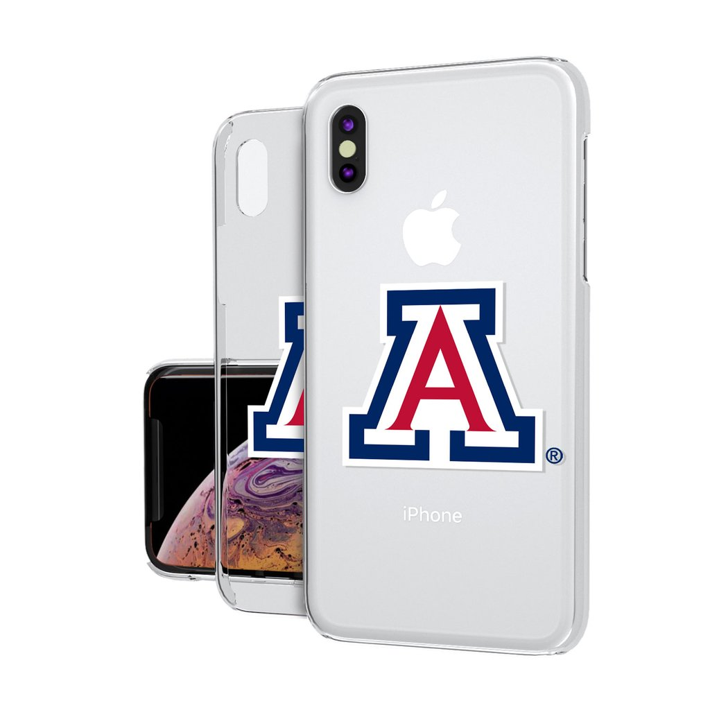 Image For Keyscaper: Arizona Wildcats Insignia iPhoneXS MAX Clear Case