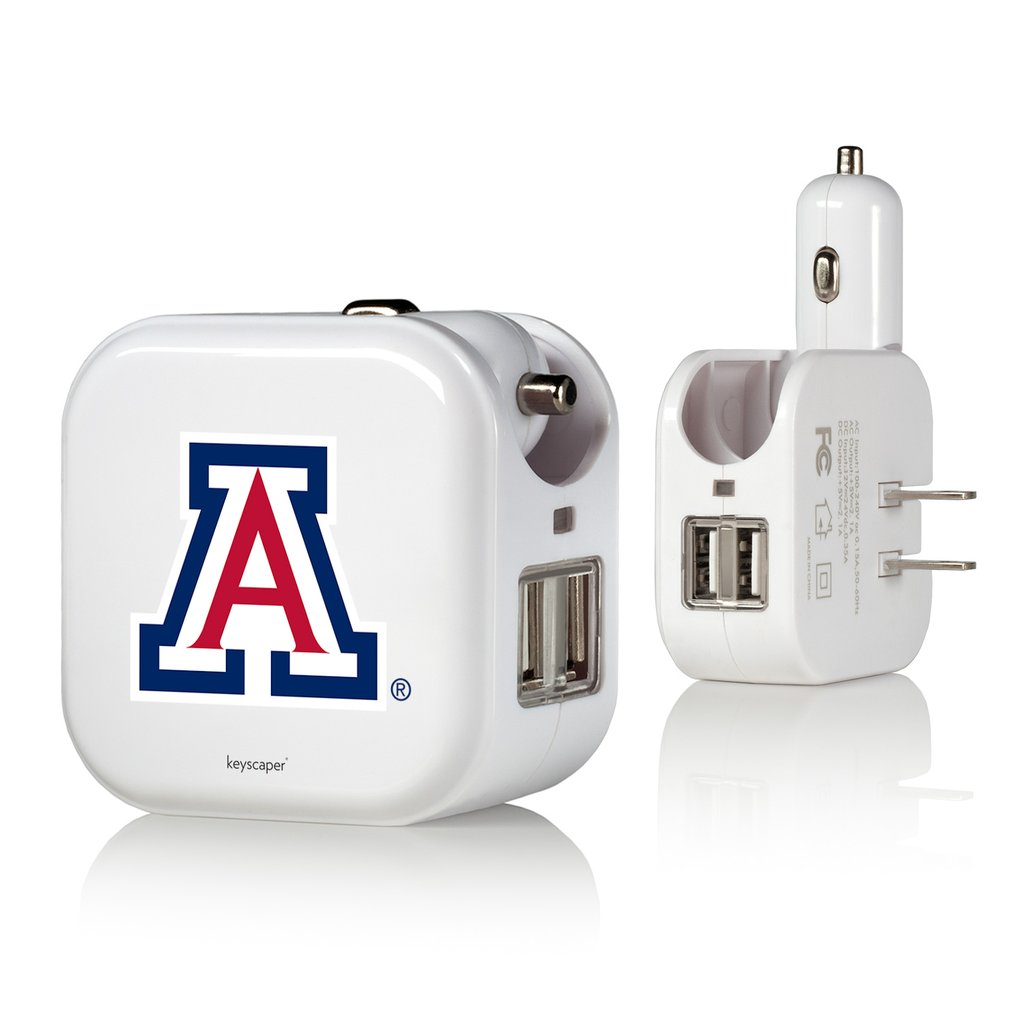 Cover Image For Keyscaper: Arizona 2 in 1 USB Wall+Car Charger
