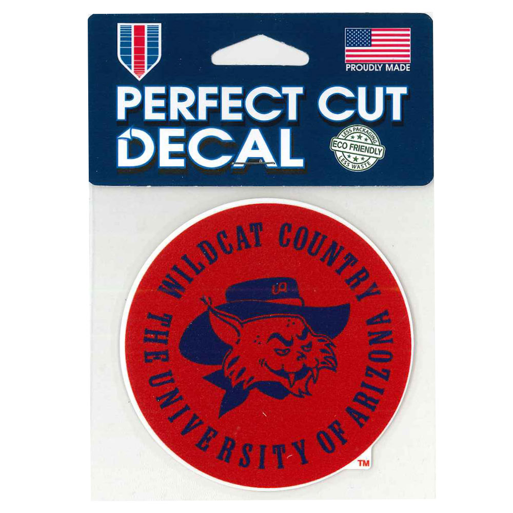 Image For Decal: Univ of Arizona Wildcat Country Perfect Cut
