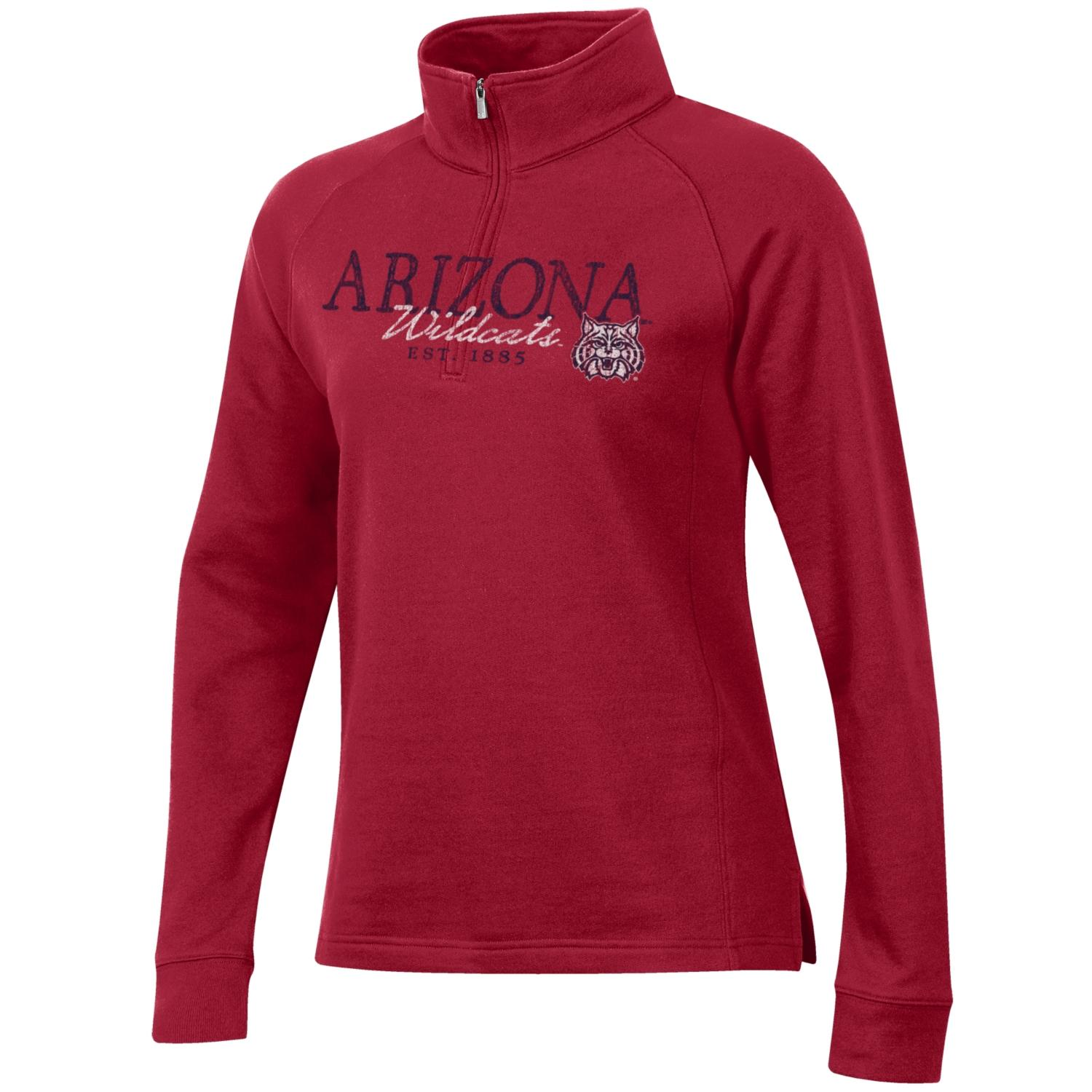 Image For Gear For Sports: Arizona Wildcats 1885 Relax 1/4 Zip - Red
