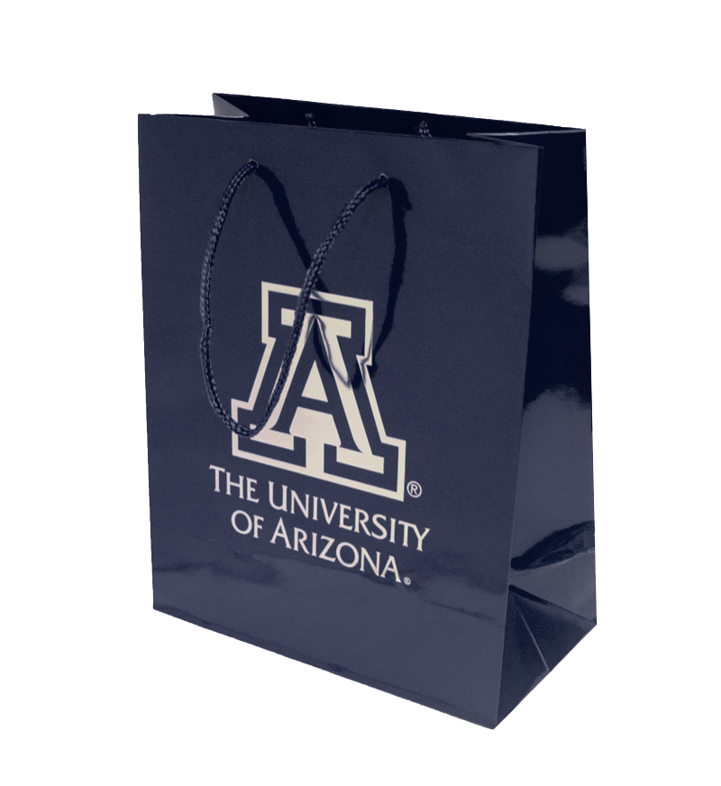 Image For Gift Bag: Unviersity of Arizona Team Logo Matte Gift Tote