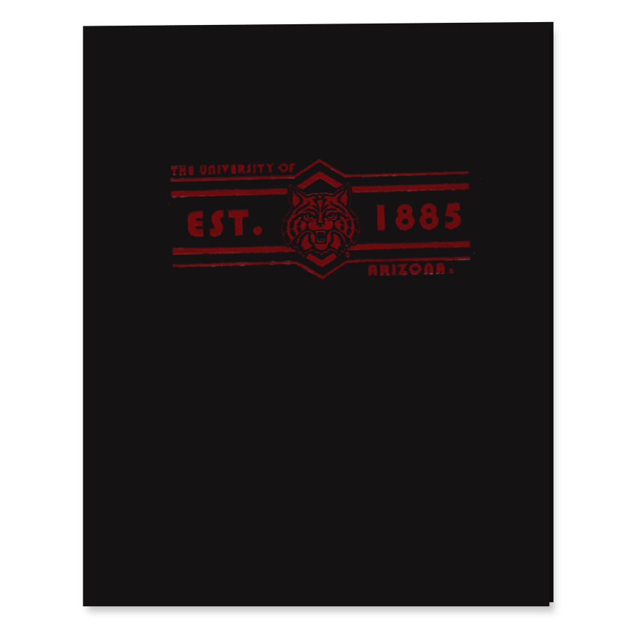 Cover Image For Folder: The University of Arizona Est. 1885 Glossy
