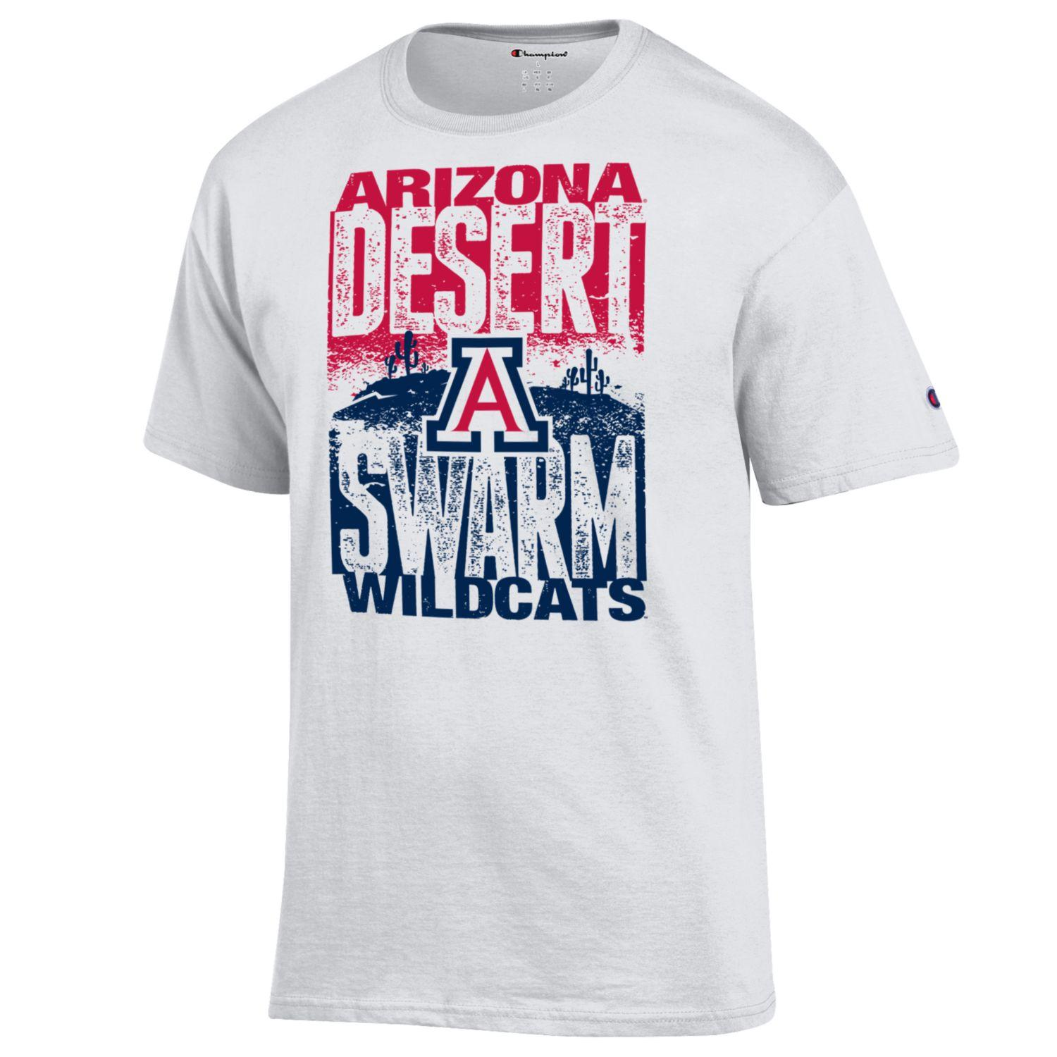 Image For Champion: Arizona DESERT SWARM Wildcats Ticket Tee