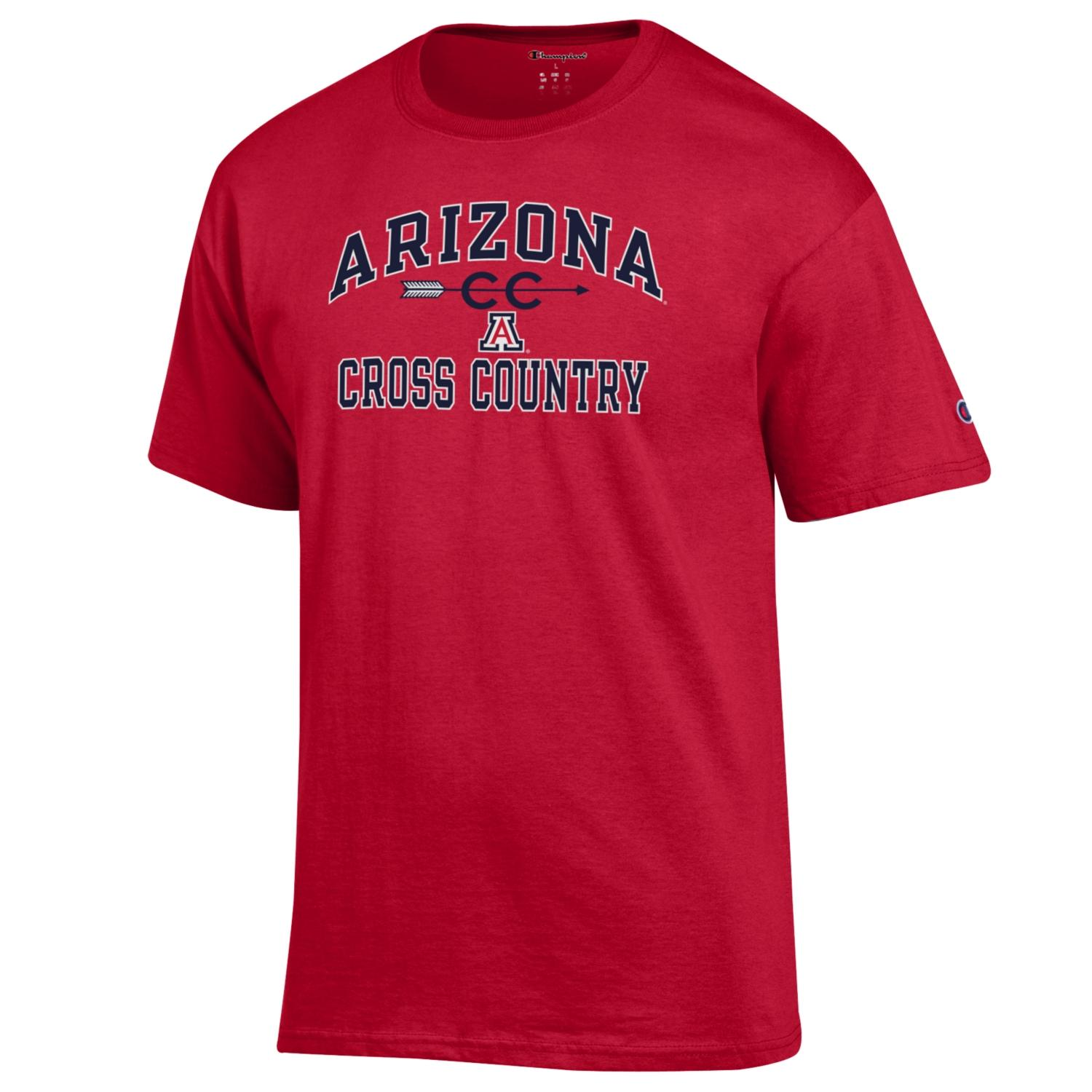 Image For Champion: Arizona Sport Cross Country Tee - Red
