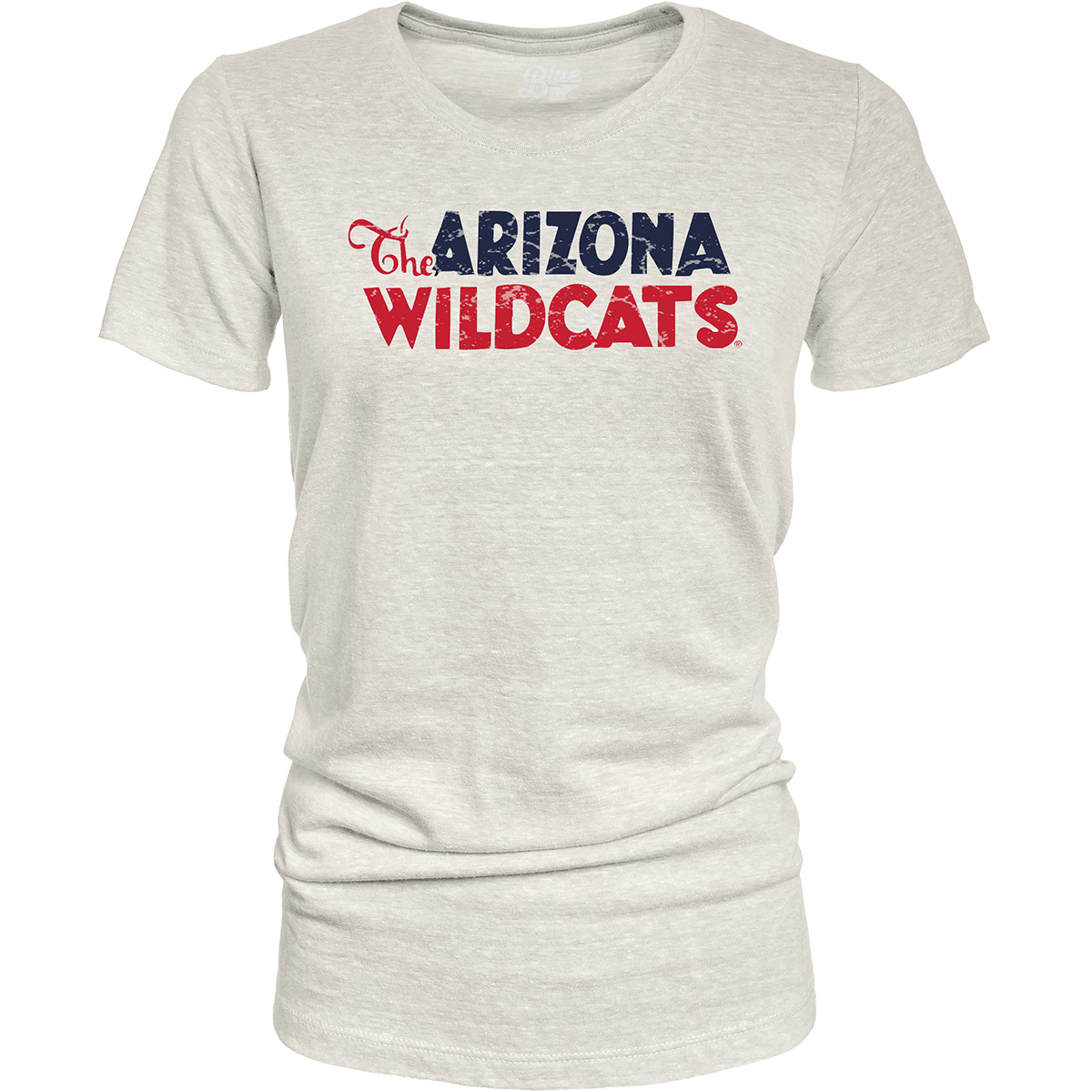 Image For Blue 84: The Arizona Wildcats Tri-Blend Tee - Oatmeal
