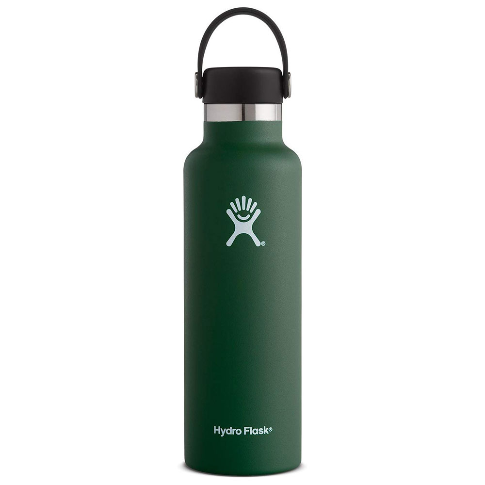Image For Hydro Flask: 21oz Standard Mouth Water Bottle Sage
