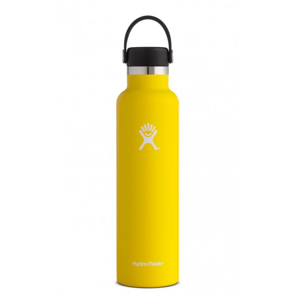 Image For Hydro Flask: 24 oz Standard Mouth Lemon