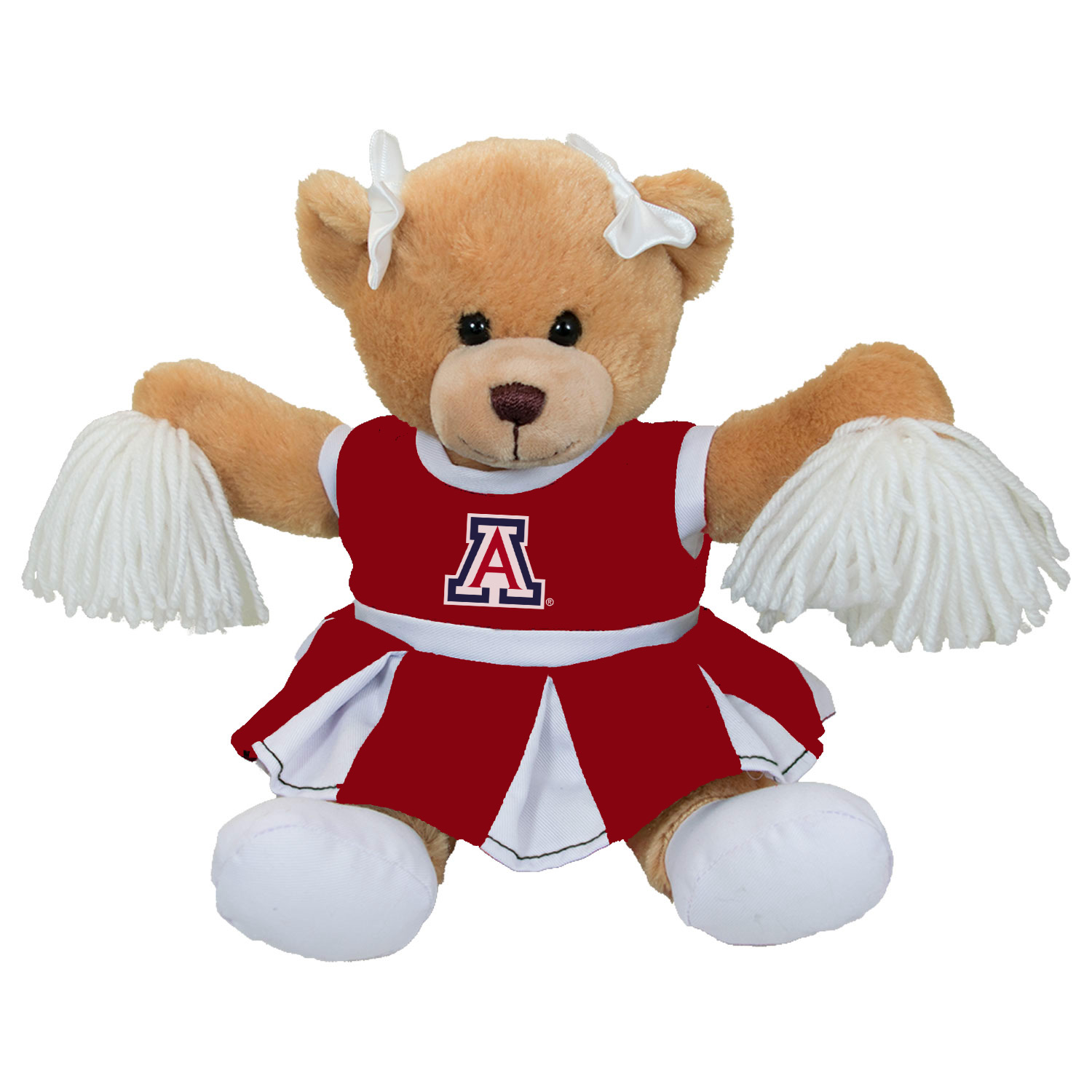 Image For Mascot Factory: Arizona Carly Cheer Plush Bear