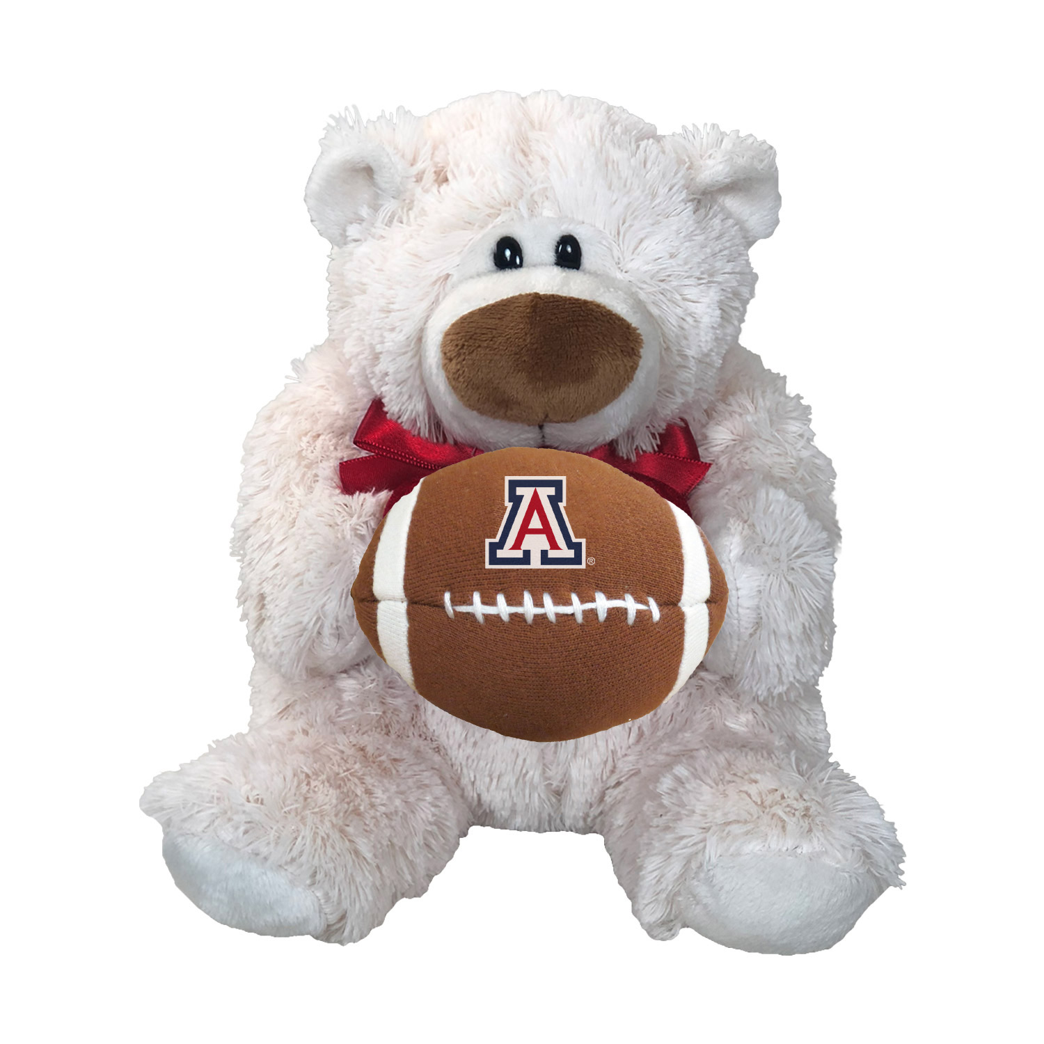 Image For Mascort Factory: Arizona Football JP Cream Sports Throb Bear