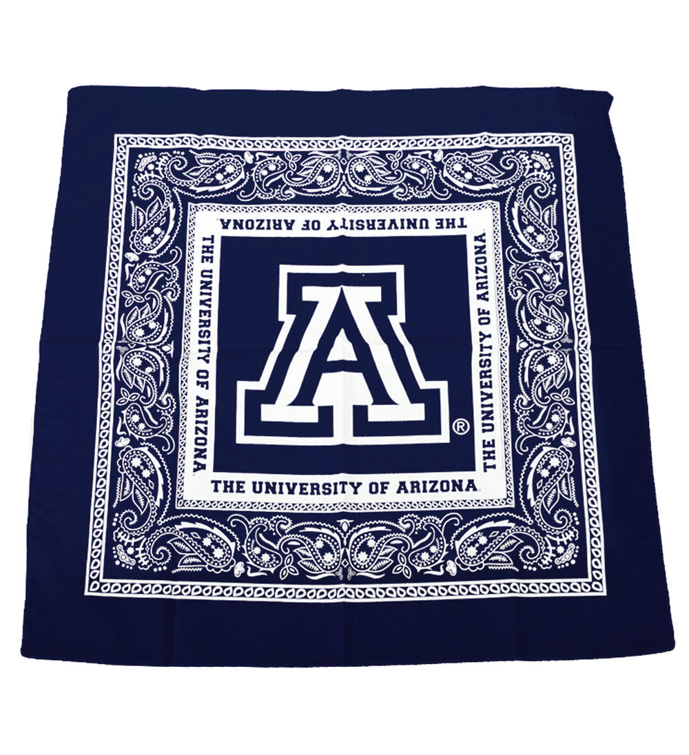 Cover Image For Bandana: Arizona Team Logo Bandana Navy