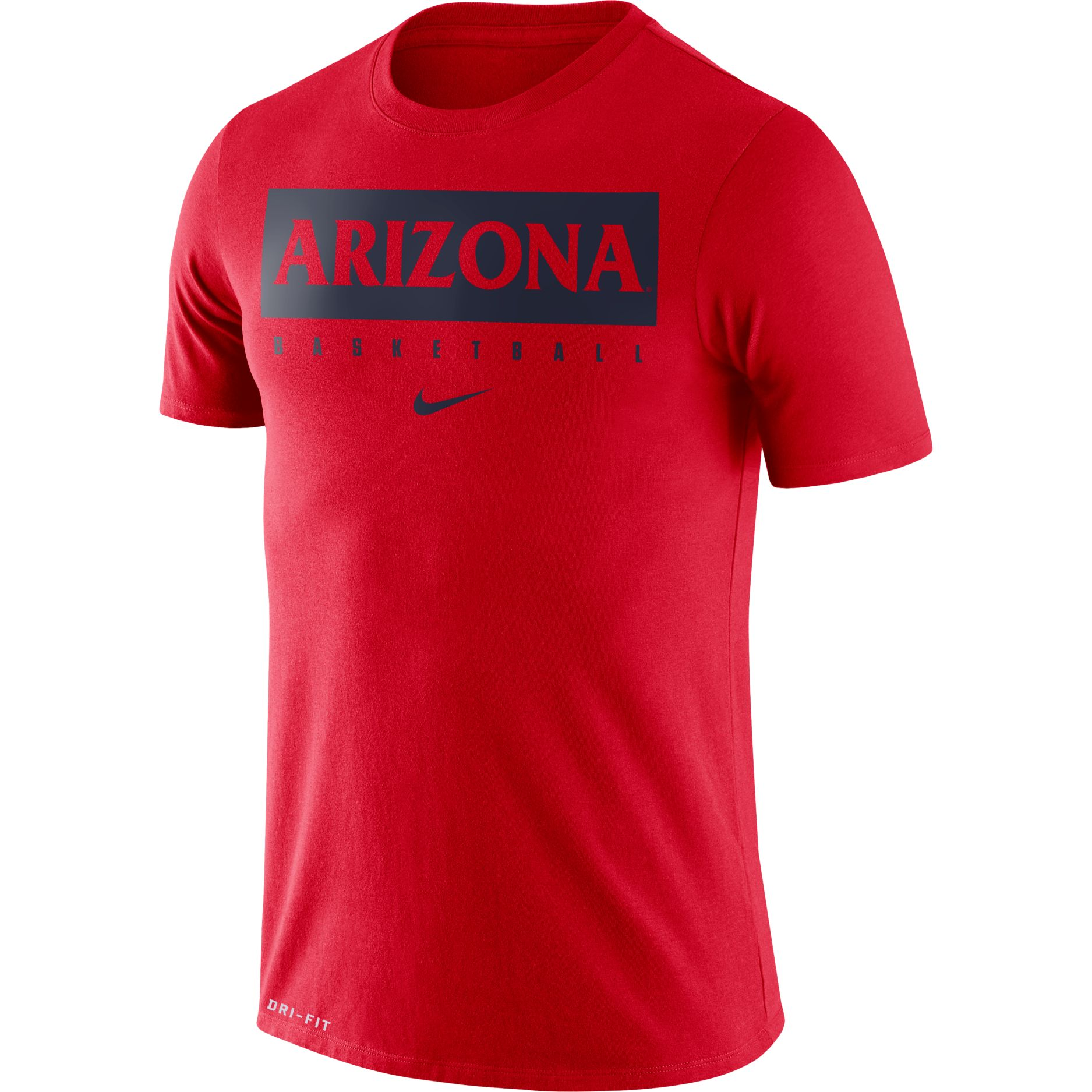 Image For Nike: Arizona BASKETBALL Legend Dri-Fit Tee - Red