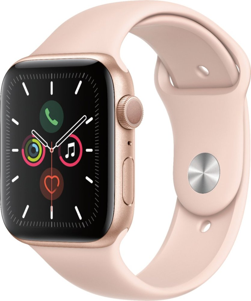 Image For Apple Watch Series 5 (GPS) 44mm Gold With Sport Band