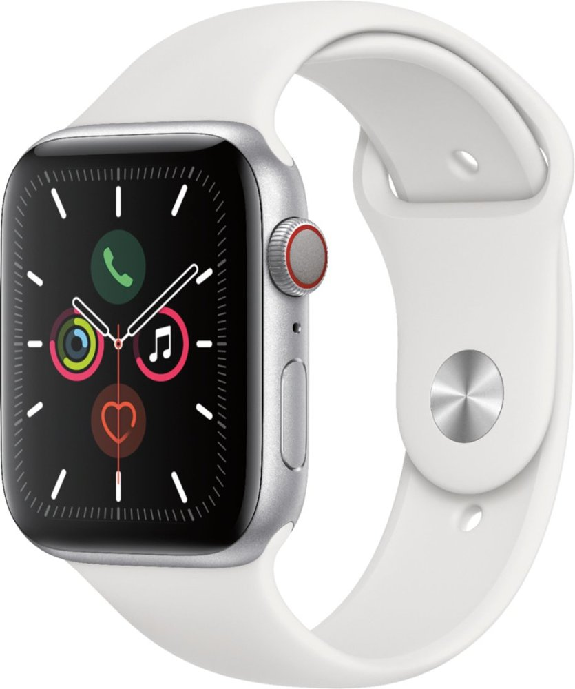 Image For Apple Watch Series 5 (GPS + Cellular) 44mm Silver