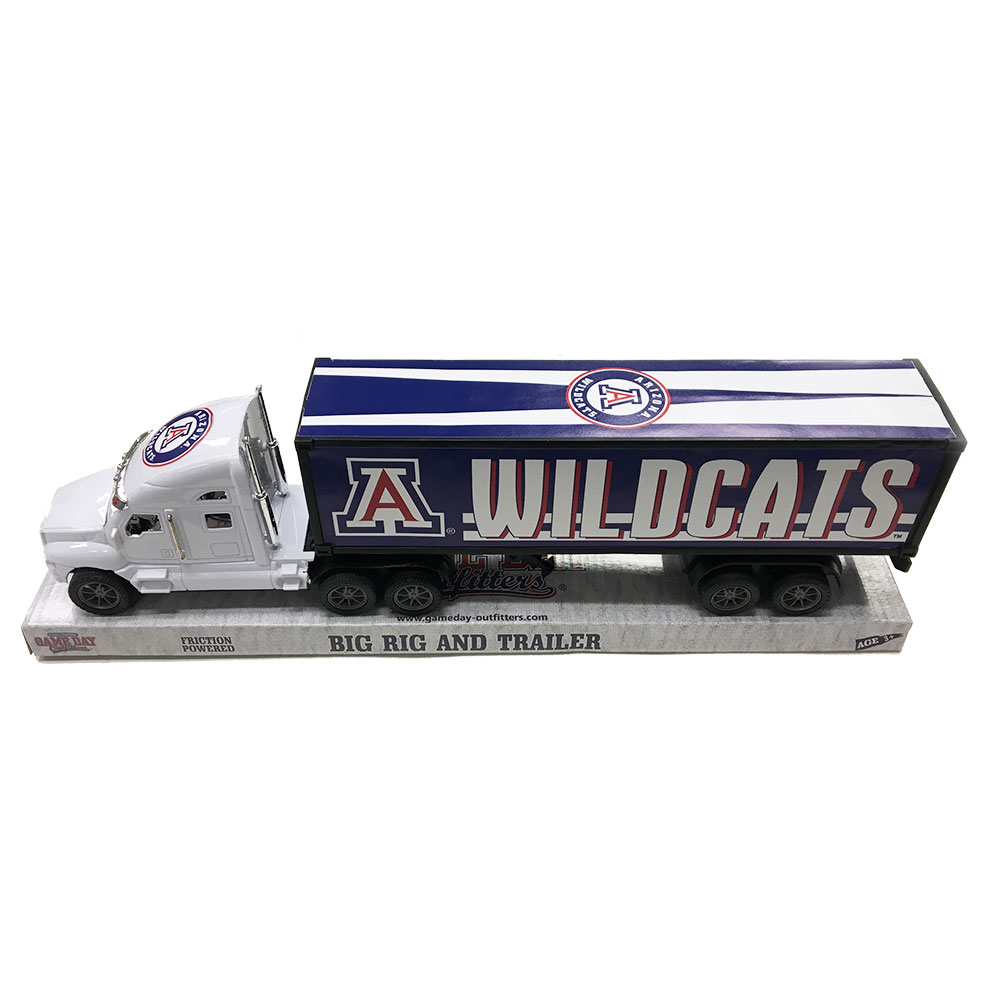 Image For Game Day Outfitters: Arizona Wildcat Big Rig and Trailer